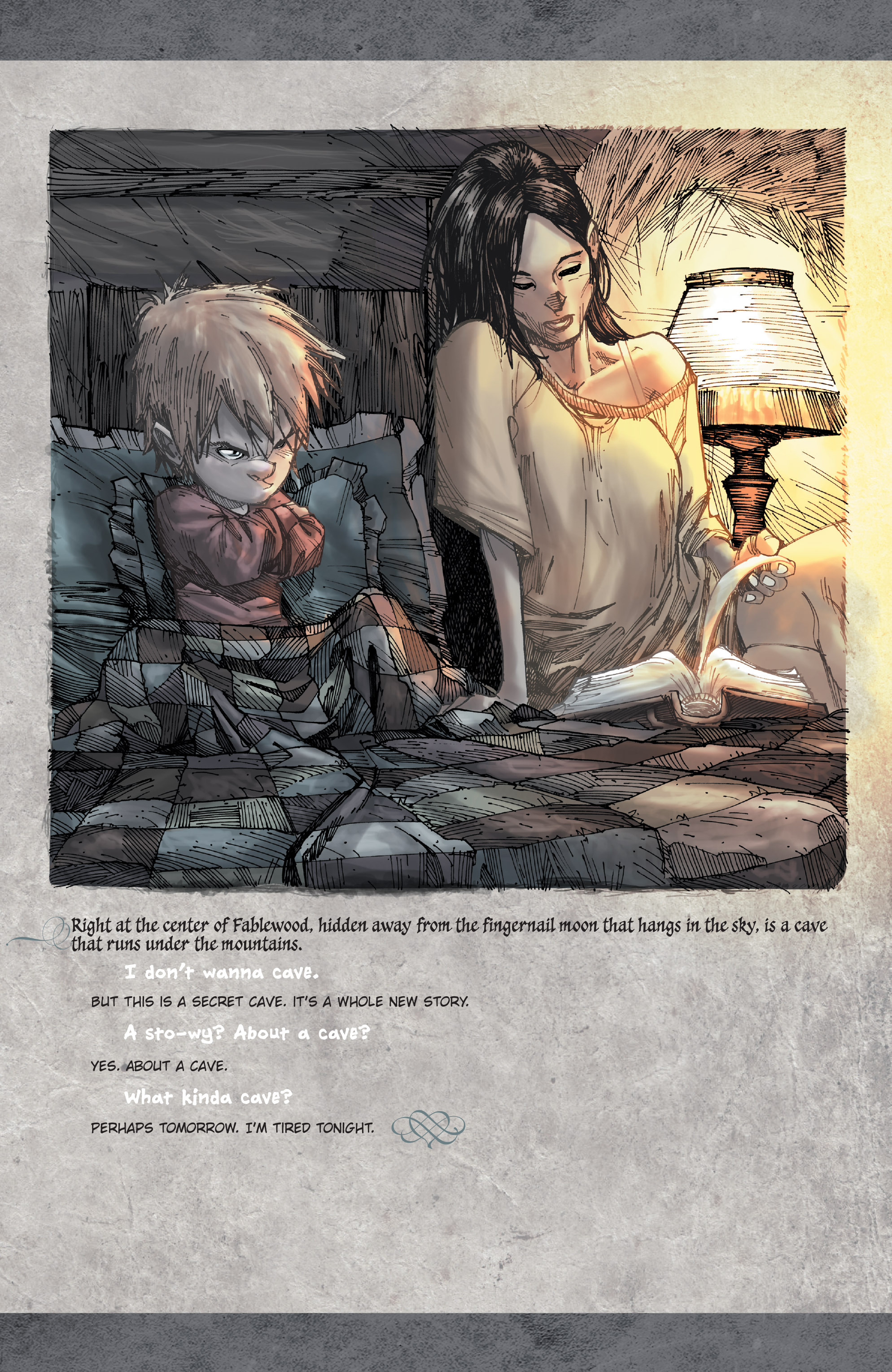 Read online Fairy Quest: Outcasts comic -  Issue #2 - 3