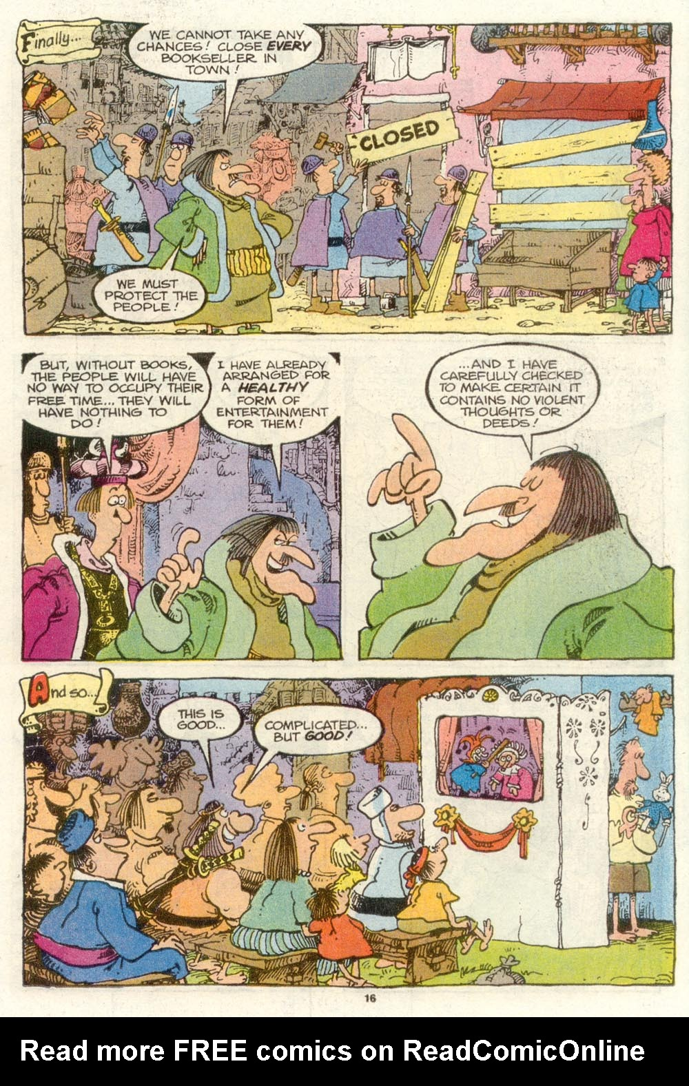 Read online Sergio Aragonés Groo the Wanderer comic -  Issue #78 - 12