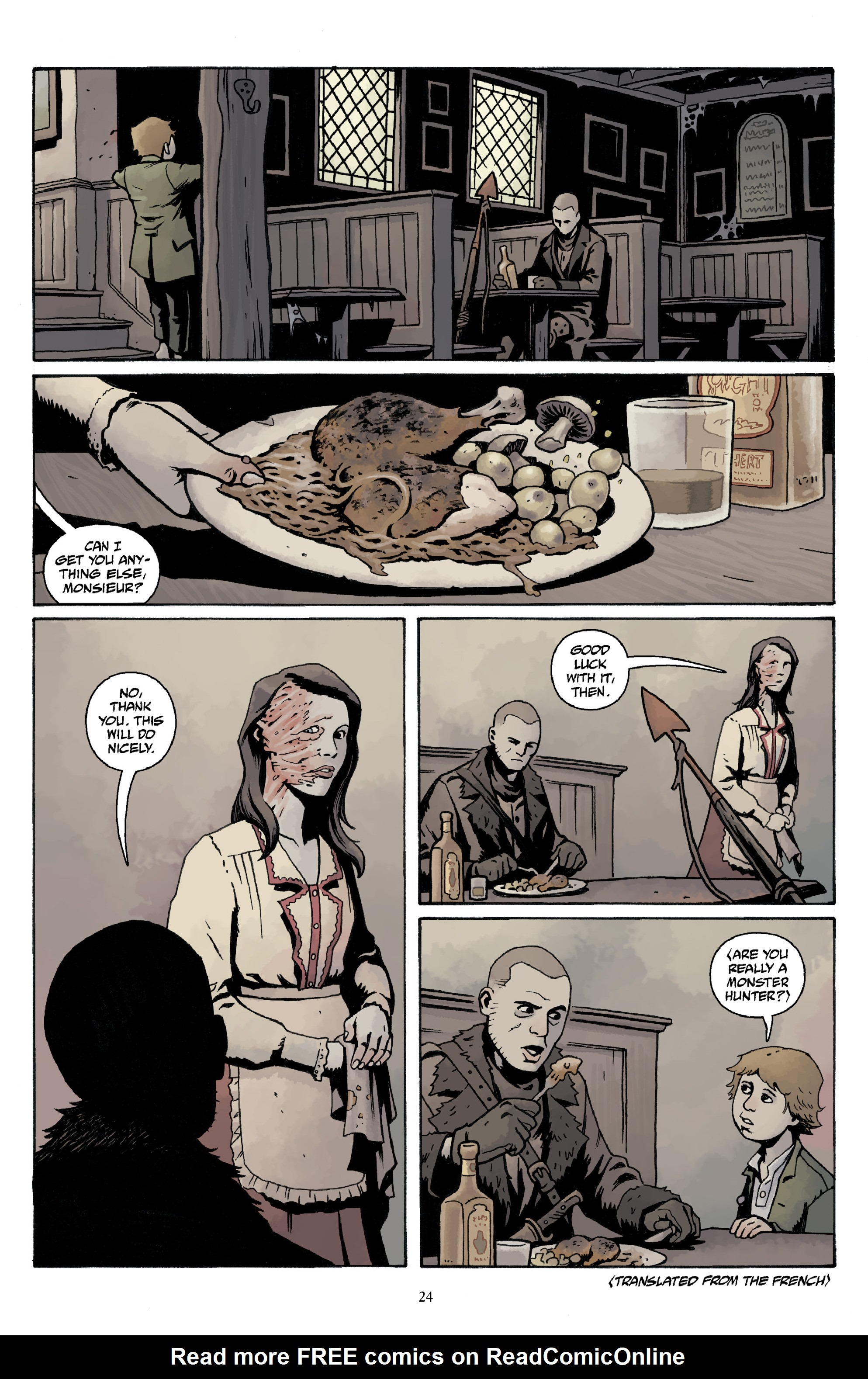 Read online Baltimore Volume 3: A Passing Stranger and Other Stories comic -  Issue # Full - 26