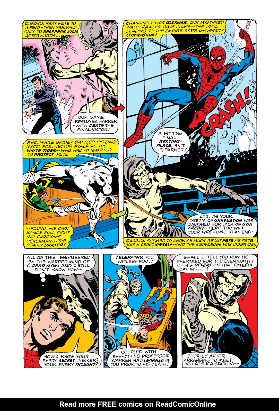 Read online Marvel Masterworks: The Spectacular Spider-Man comic -  Issue # TPB 2 (Part 3) - 83
