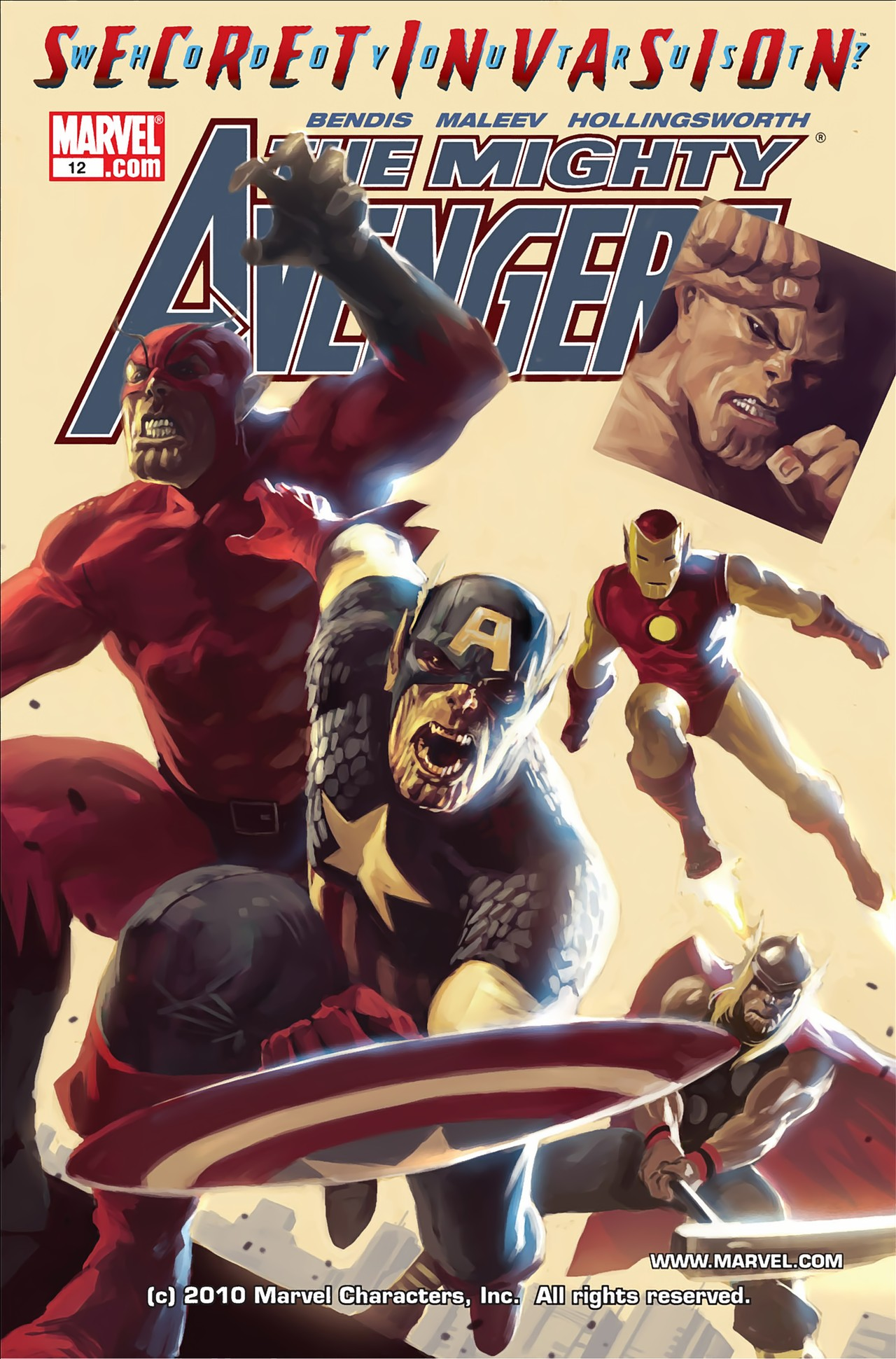 The Mighty Avengers 12 Page 1