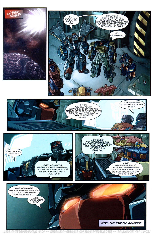 Read online Transformers Armada comic -  Issue #17 - 24