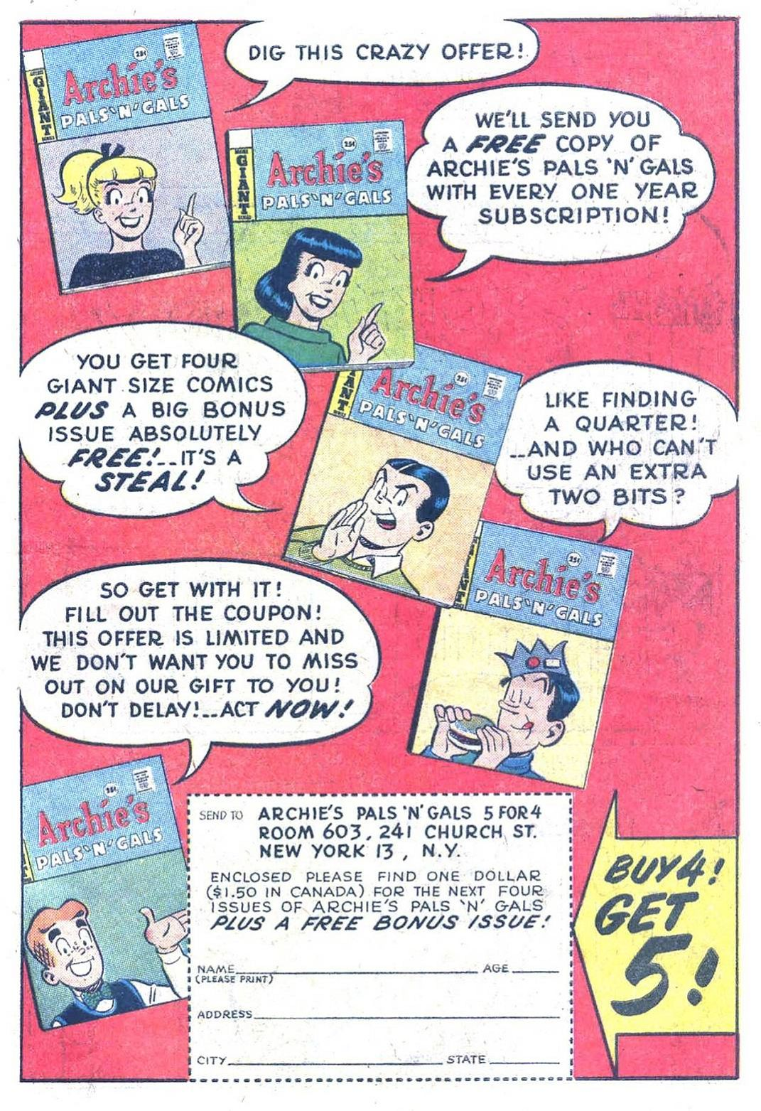 Read online Archie (1960) comic -  Issue #134 - 19