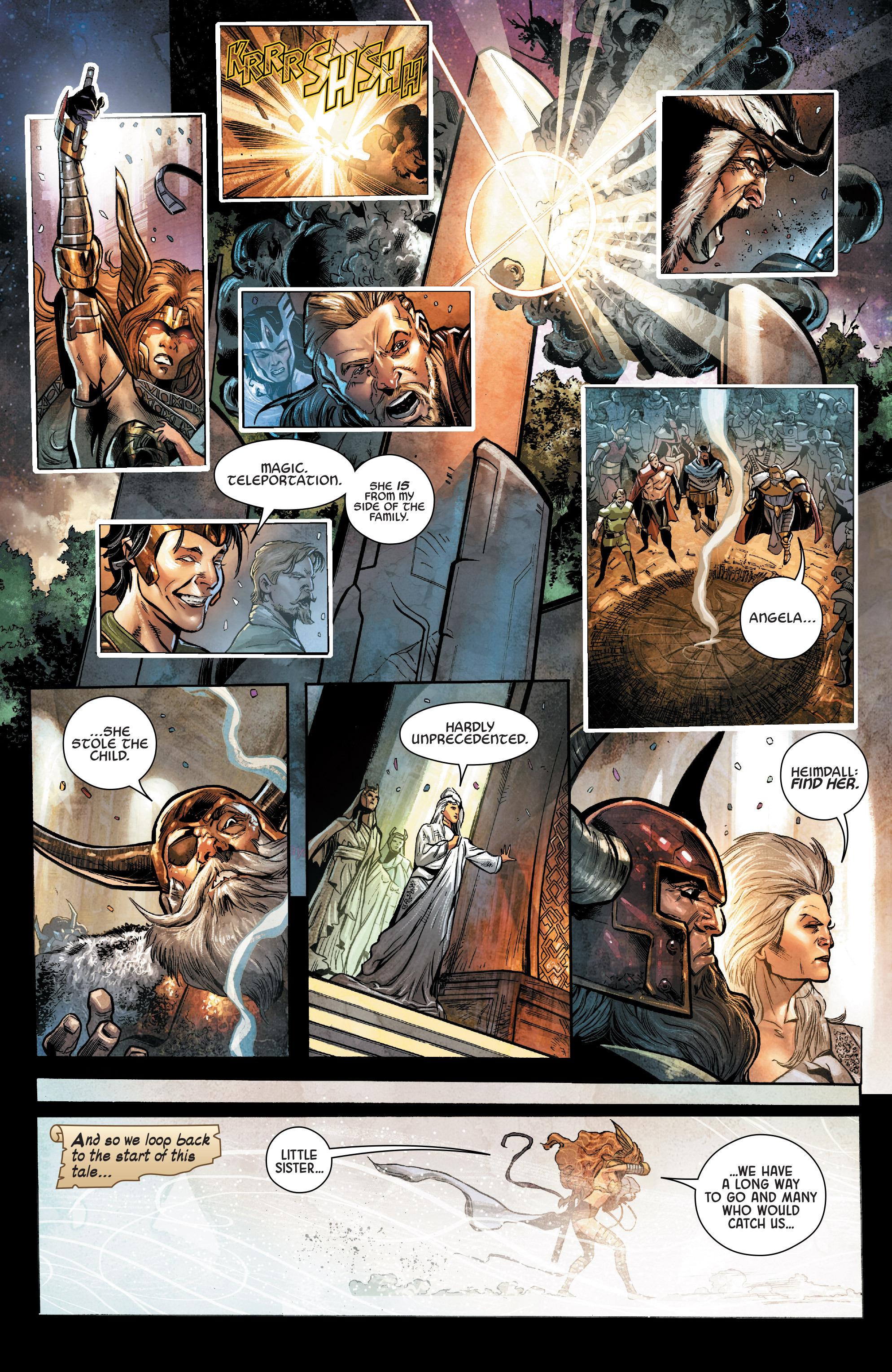 Read online Angela: Asgard's Assassin comic -  Issue #2 - 10