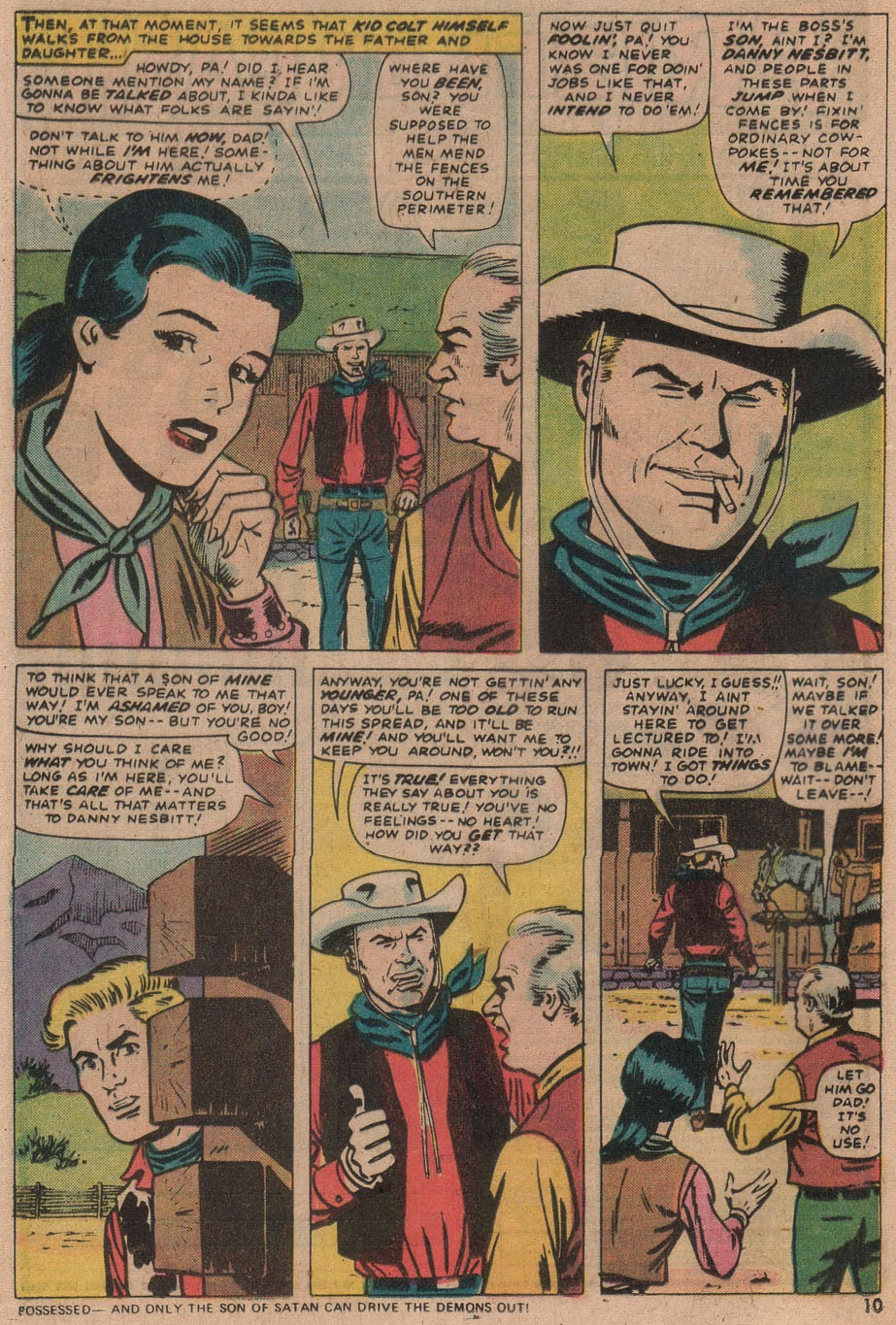 Kid Colt Outlaw issue 187 - Page 11