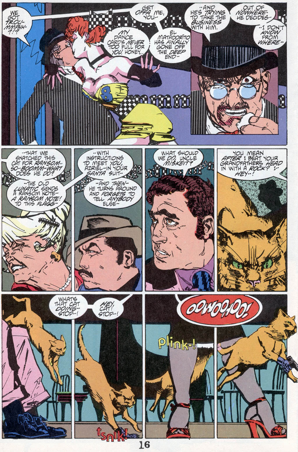 Read online American Flagg! comic -  Issue # _Special 1 - 18