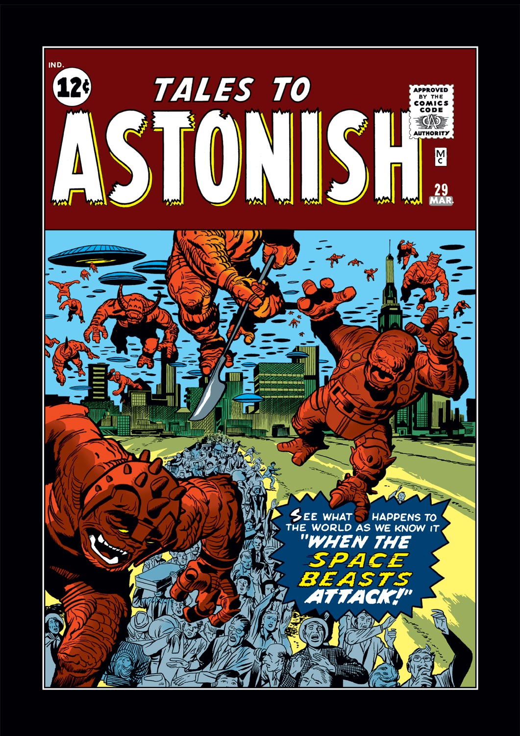 Tales to Astonish (1959) issue 29 - Page 1