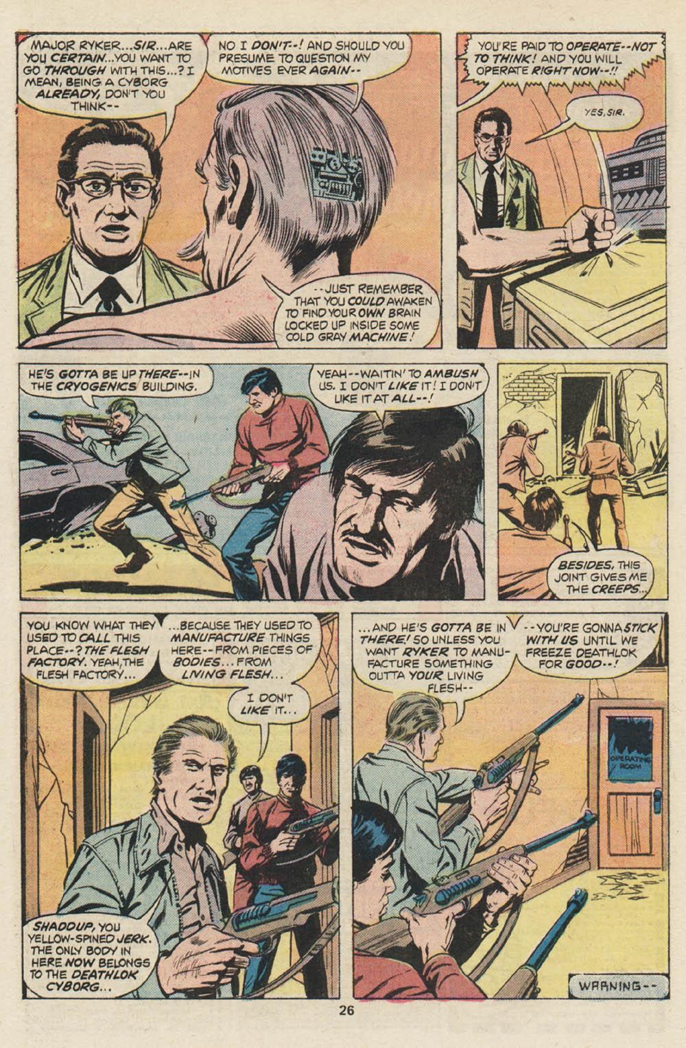 Read online Astonishing Tales (1970) comic -  Issue #30 - 16
