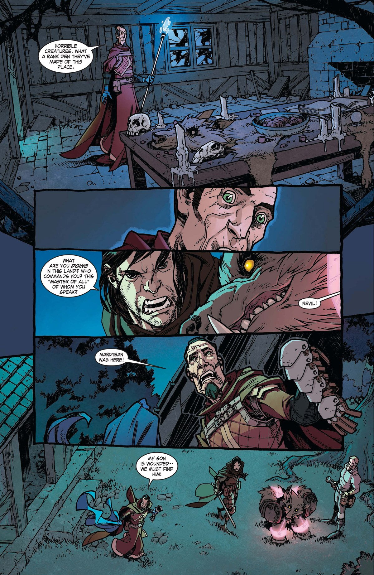 Read online World of Warcraft: Dark Riders comic -  Issue # Full - 51