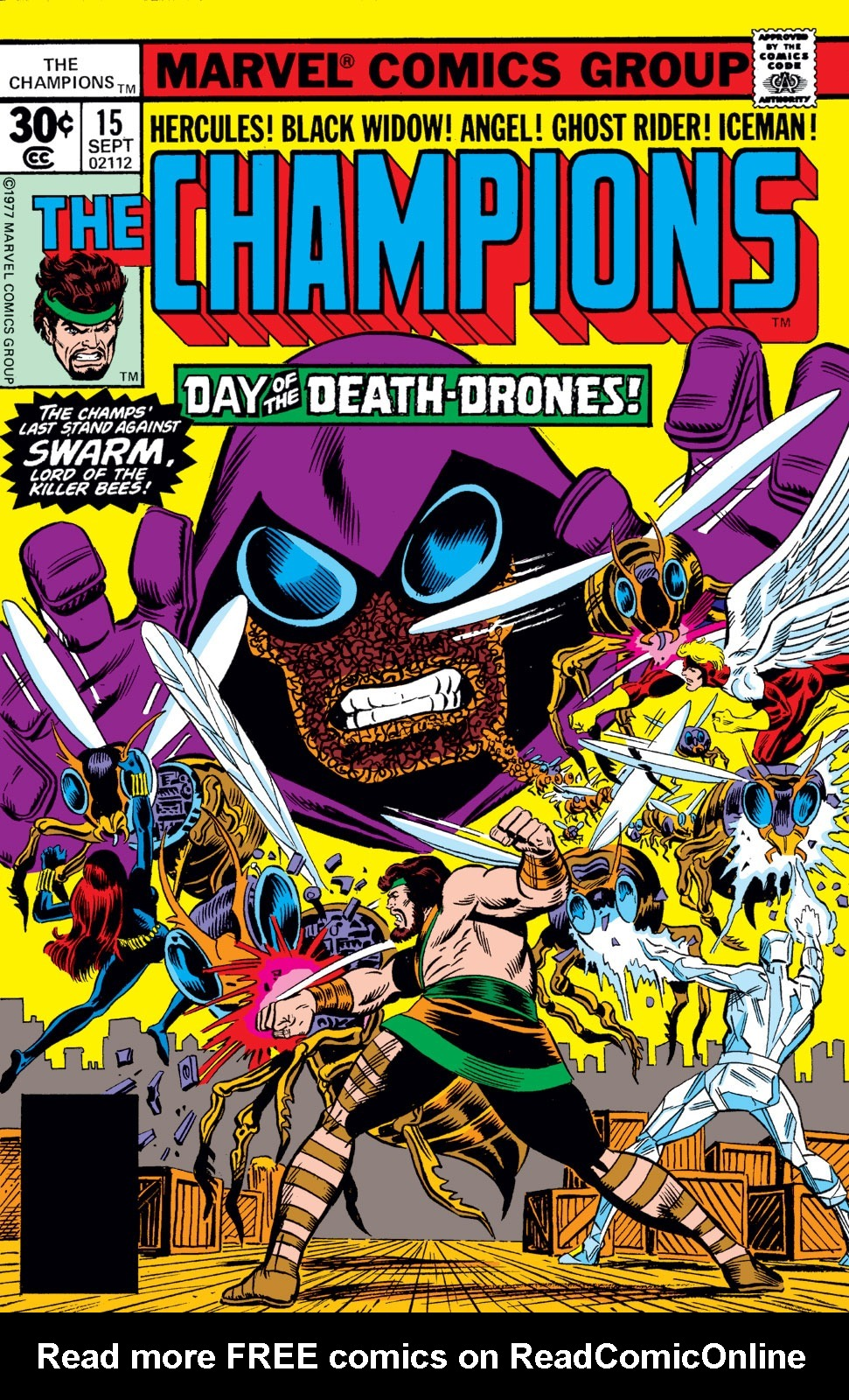 The Champions issue 15 - Page 1