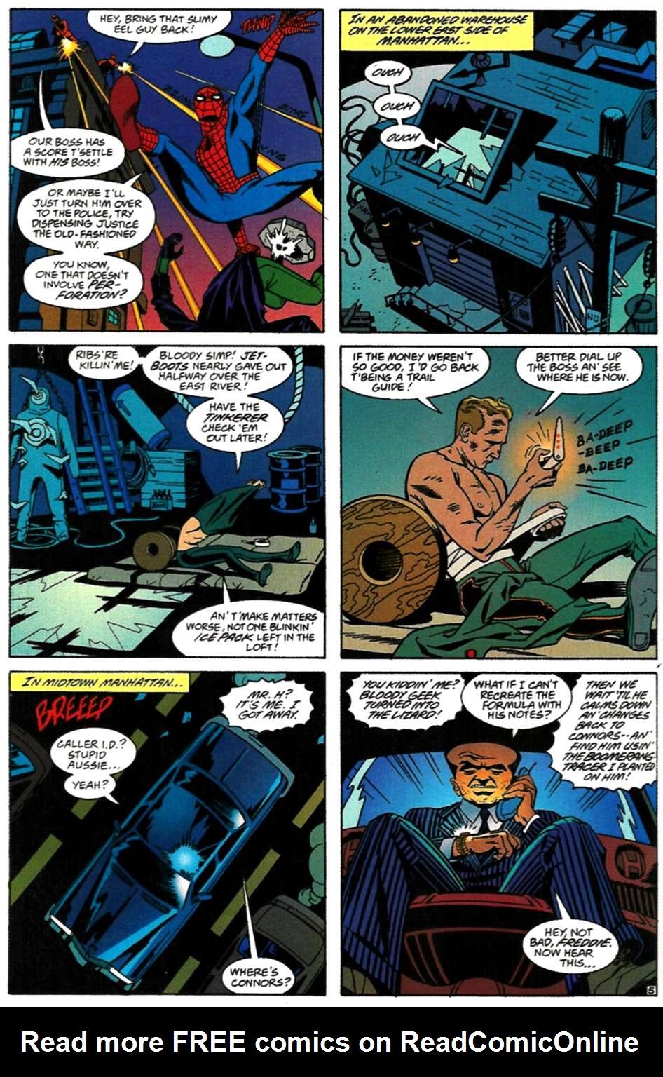 Read online Spider-Man: Lifeline comic -  Issue #3 - 6