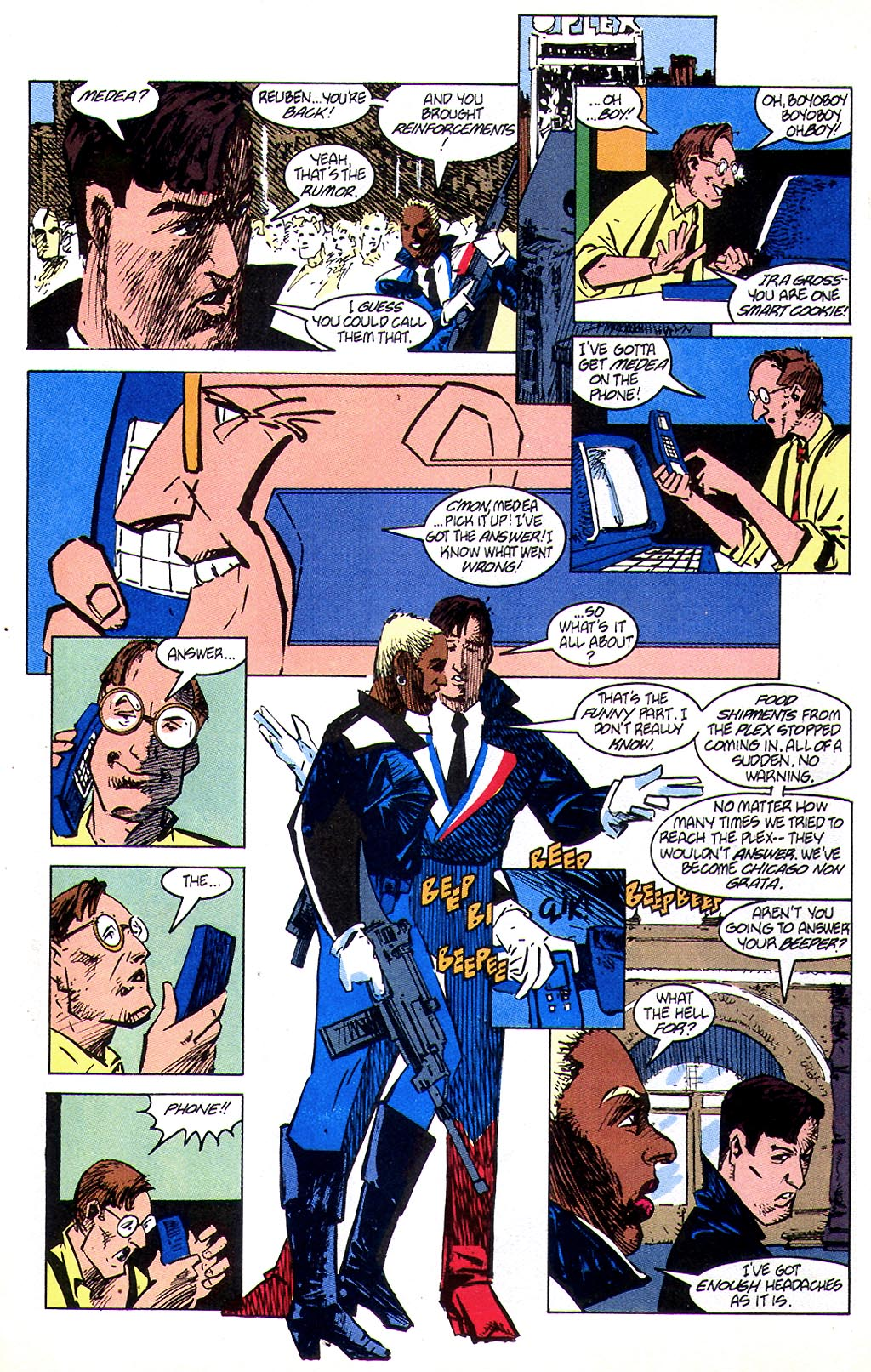 Read online American Flagg! comic -  Issue #45 - 7