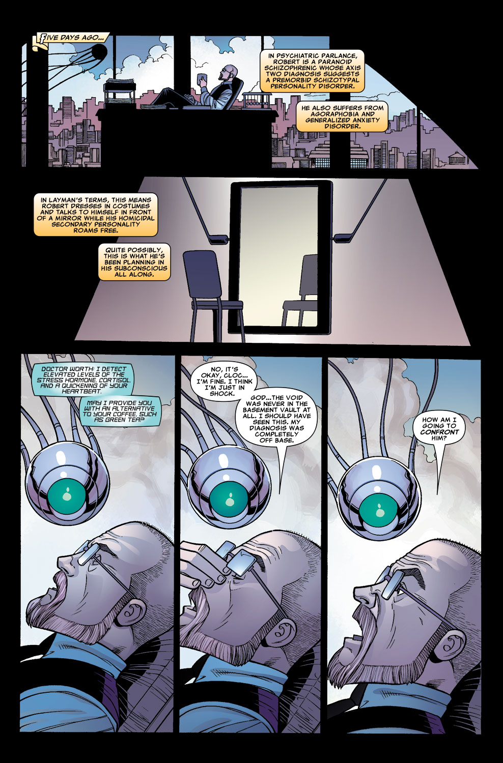 Read online Sentry (2006) comic -  Issue #5 - 4