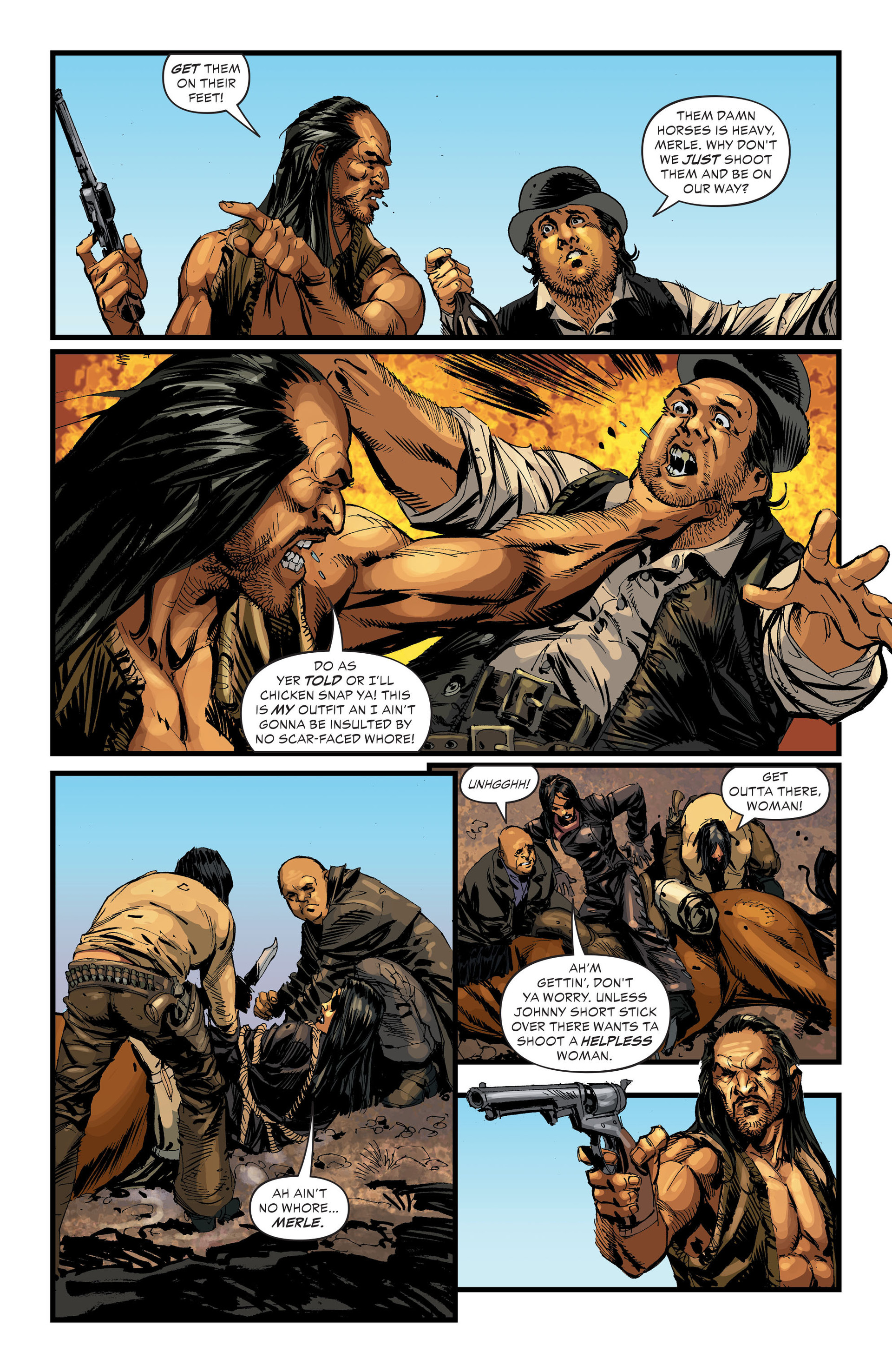 Read online All-Star Western (2011) comic -  Issue #33 - 4