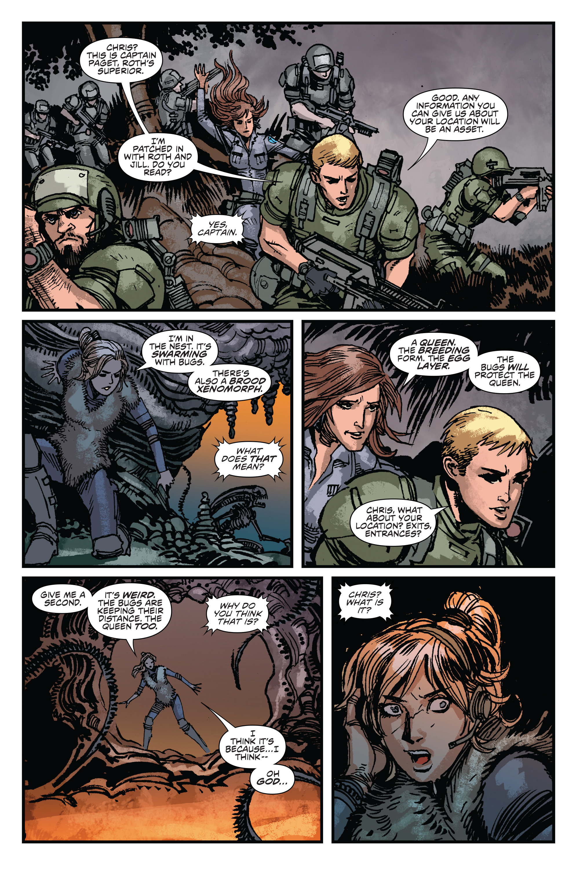 Read online Aliens: Life And Death comic -  Issue #3 - 12
