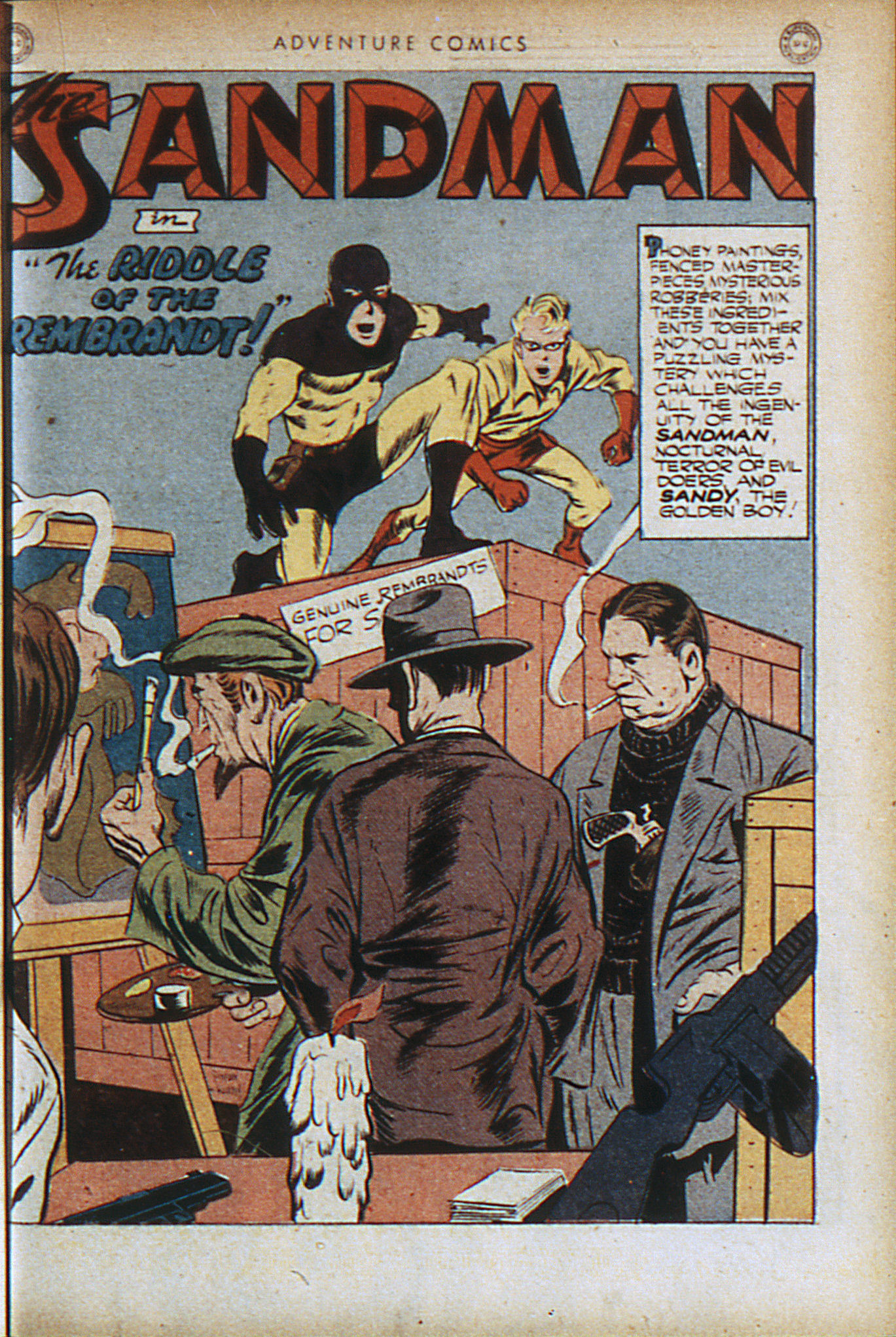 Read online Adventure Comics (1938) comic -  Issue #95 - 4