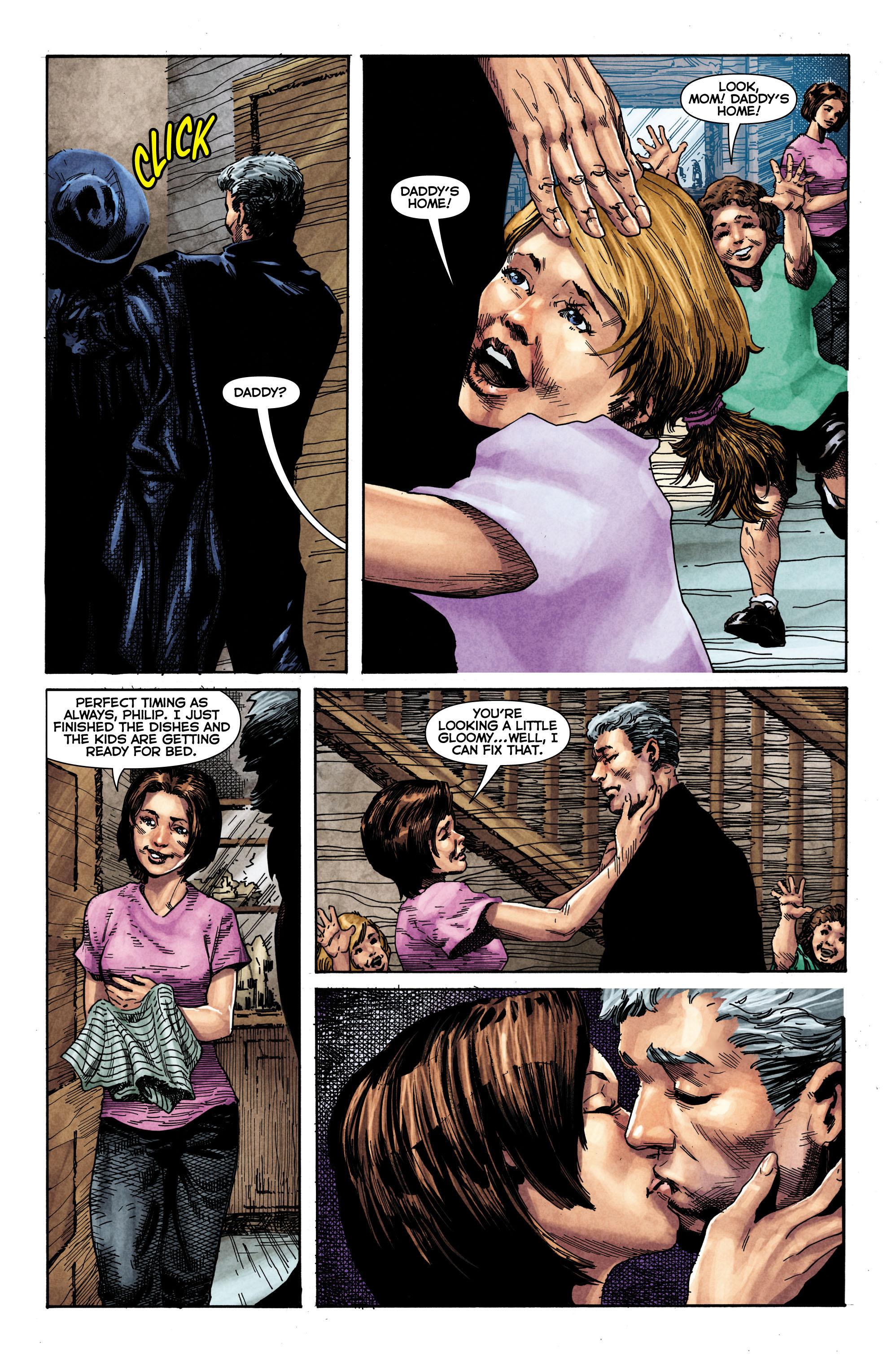 Read online Trinity of Sin: The Phantom Stranger comic -  Issue #1 - 20