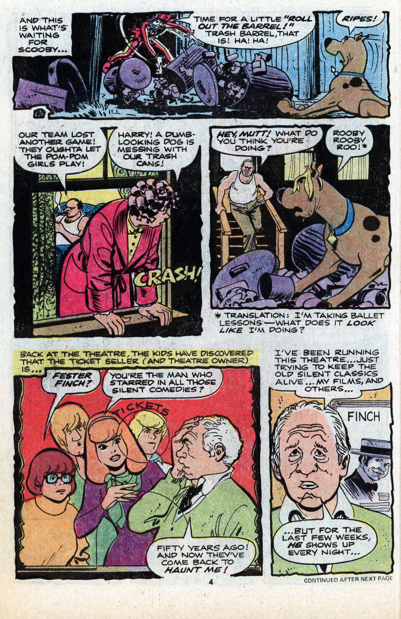 Read online Scooby-Doo (1977) comic -  Issue #6 - 6