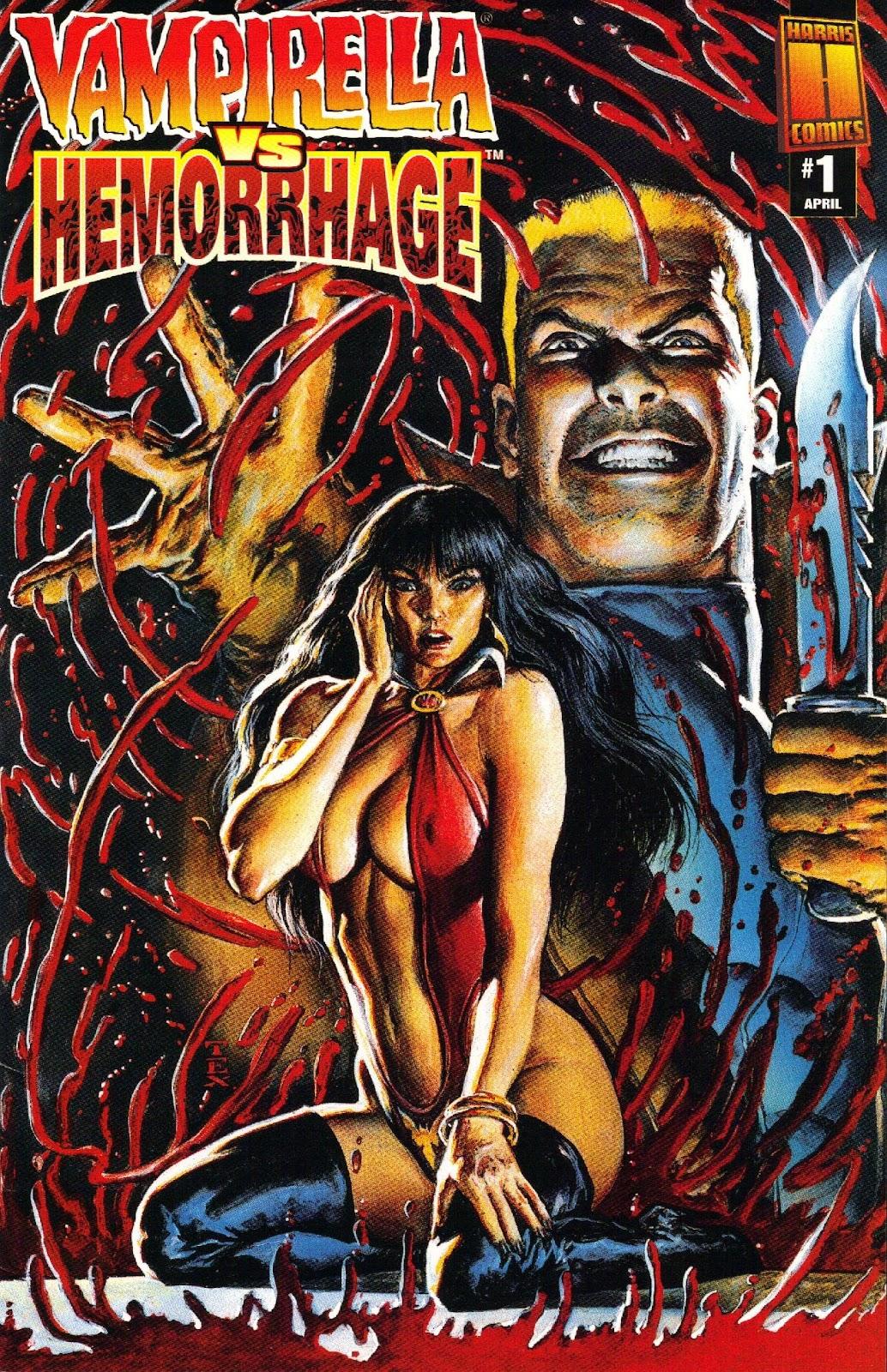 Vampirella vs Hemorrhage issue 1 - Page 1