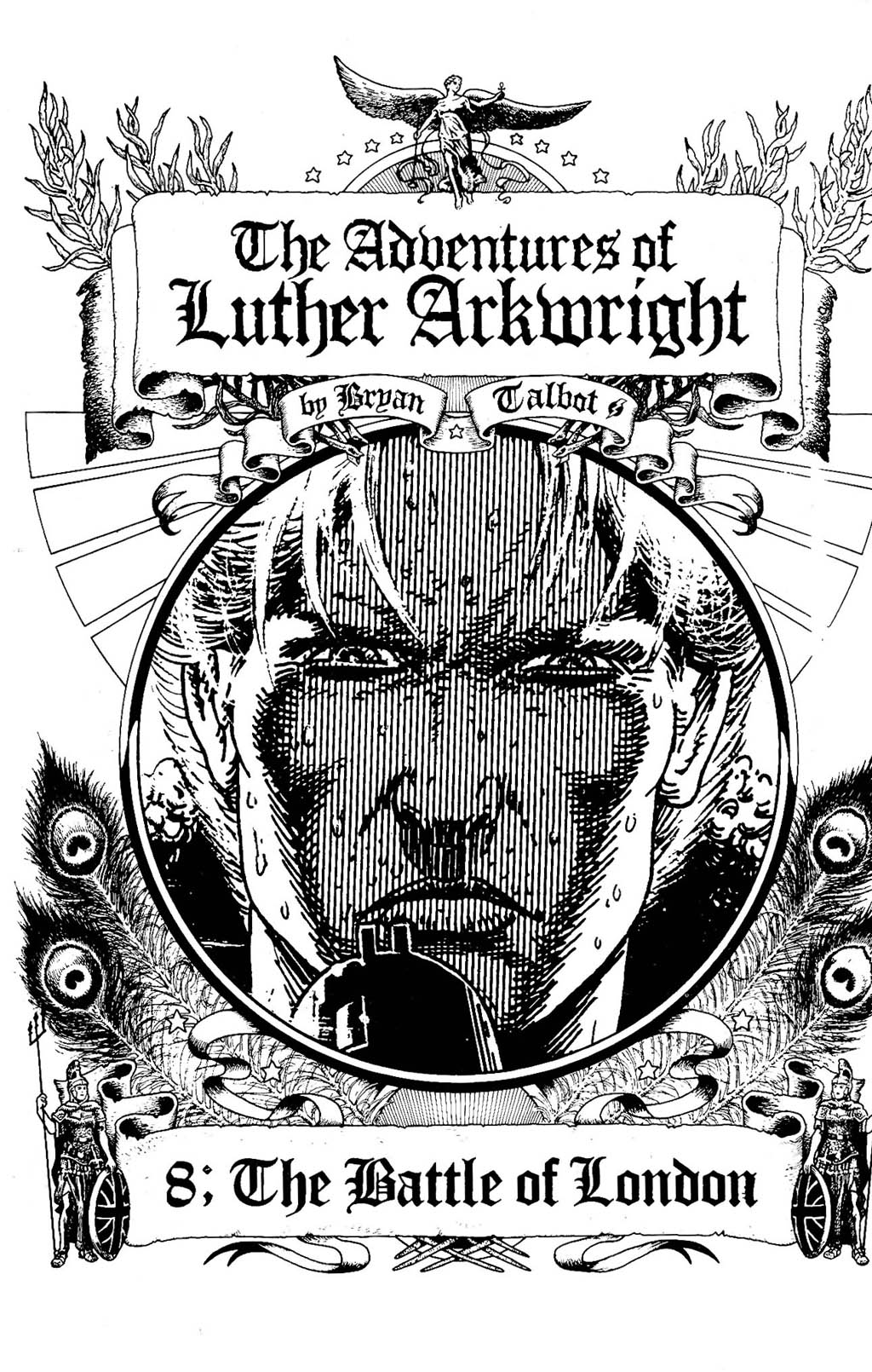 Read online The Adventures of Luther Arkwright comic -  Issue #8 - 3
