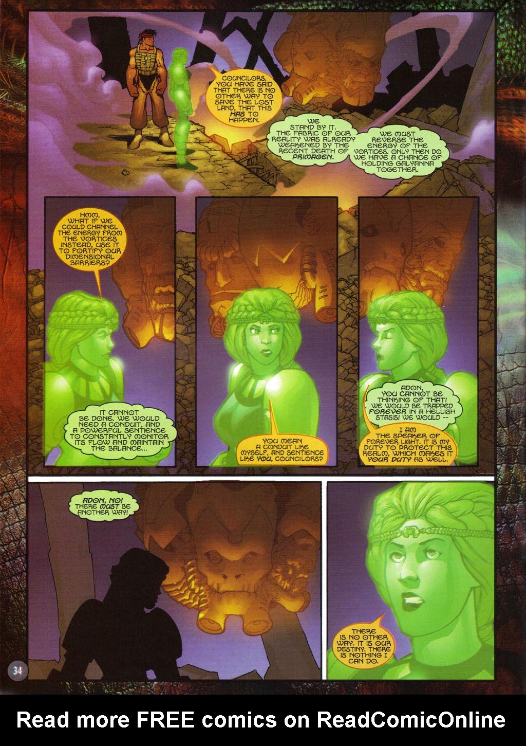 Read online Turok 2: Adon's Curse comic -  Issue # Full - 35