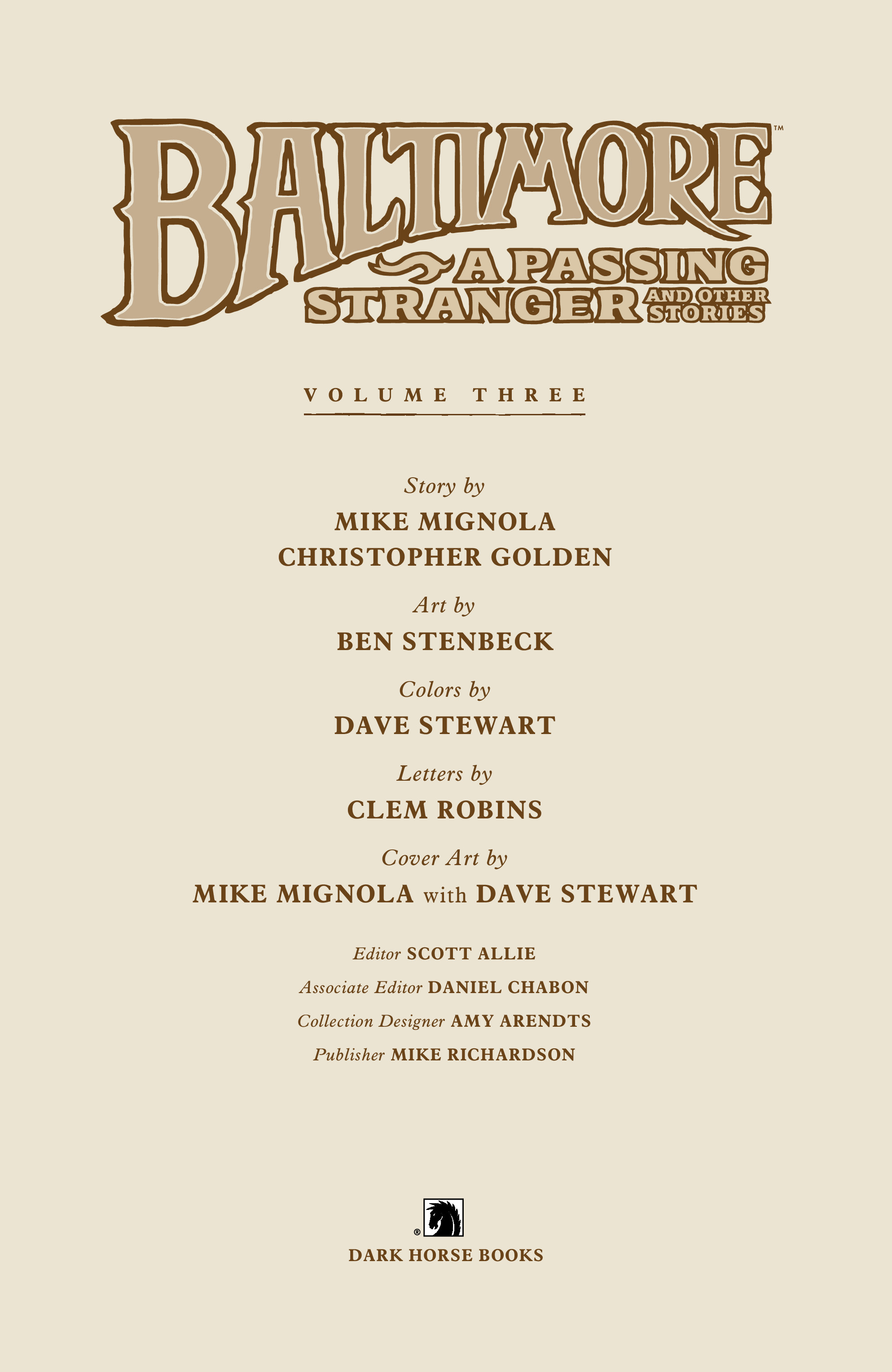 Read online Baltimore Volume 3: A Passing Stranger and Other Stories comic -  Issue # Full - 5