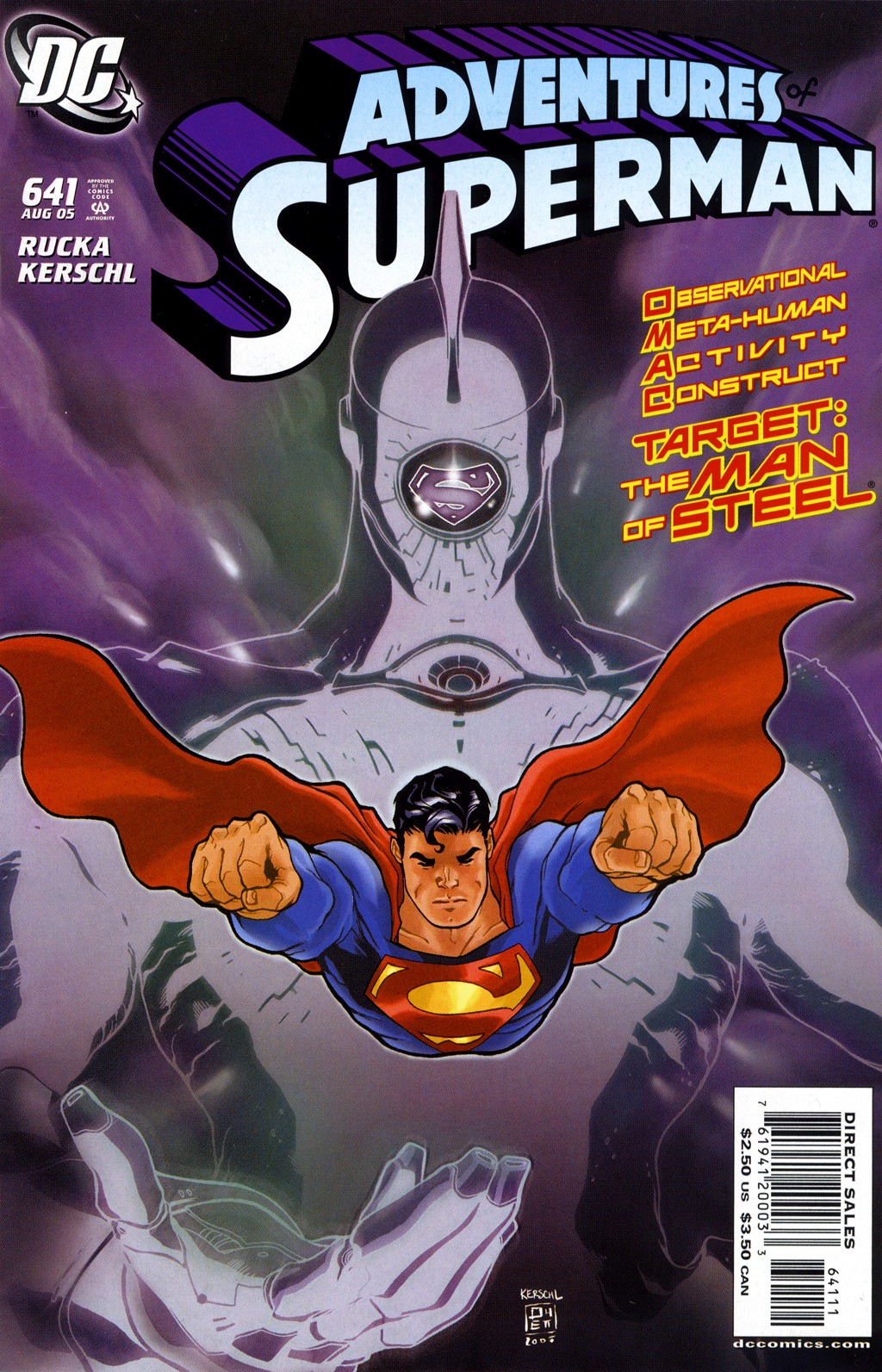 Read online Adventures of Superman (1987) comic -  Issue #641 - 1