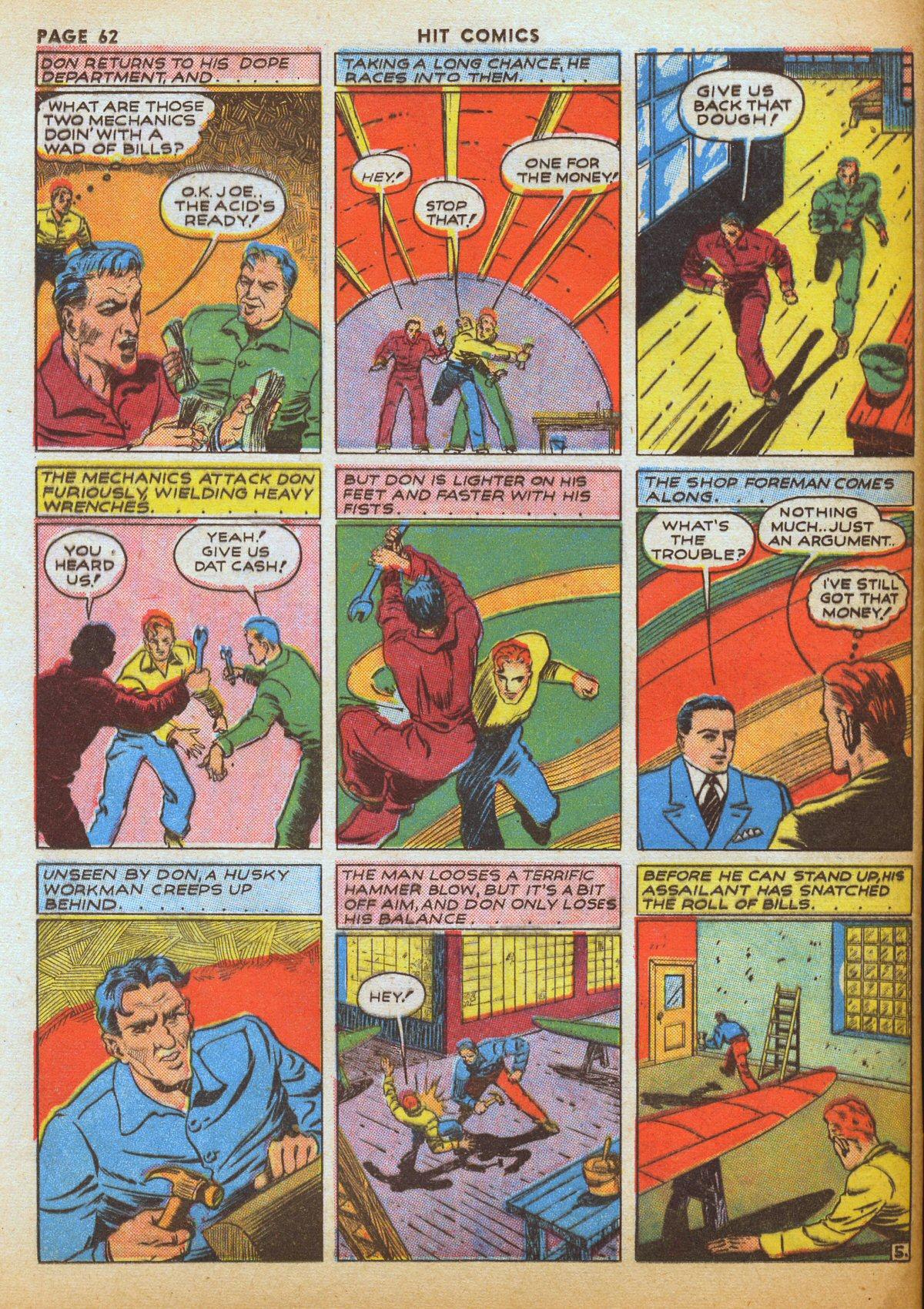 Read online Hit Comics comic -  Issue #12 - 64