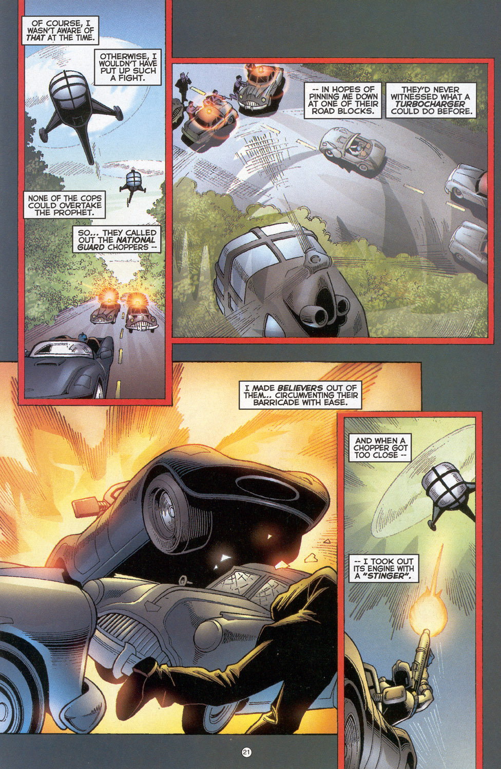 Read online Doctor Tomorrow comic -  Issue #4 - 17