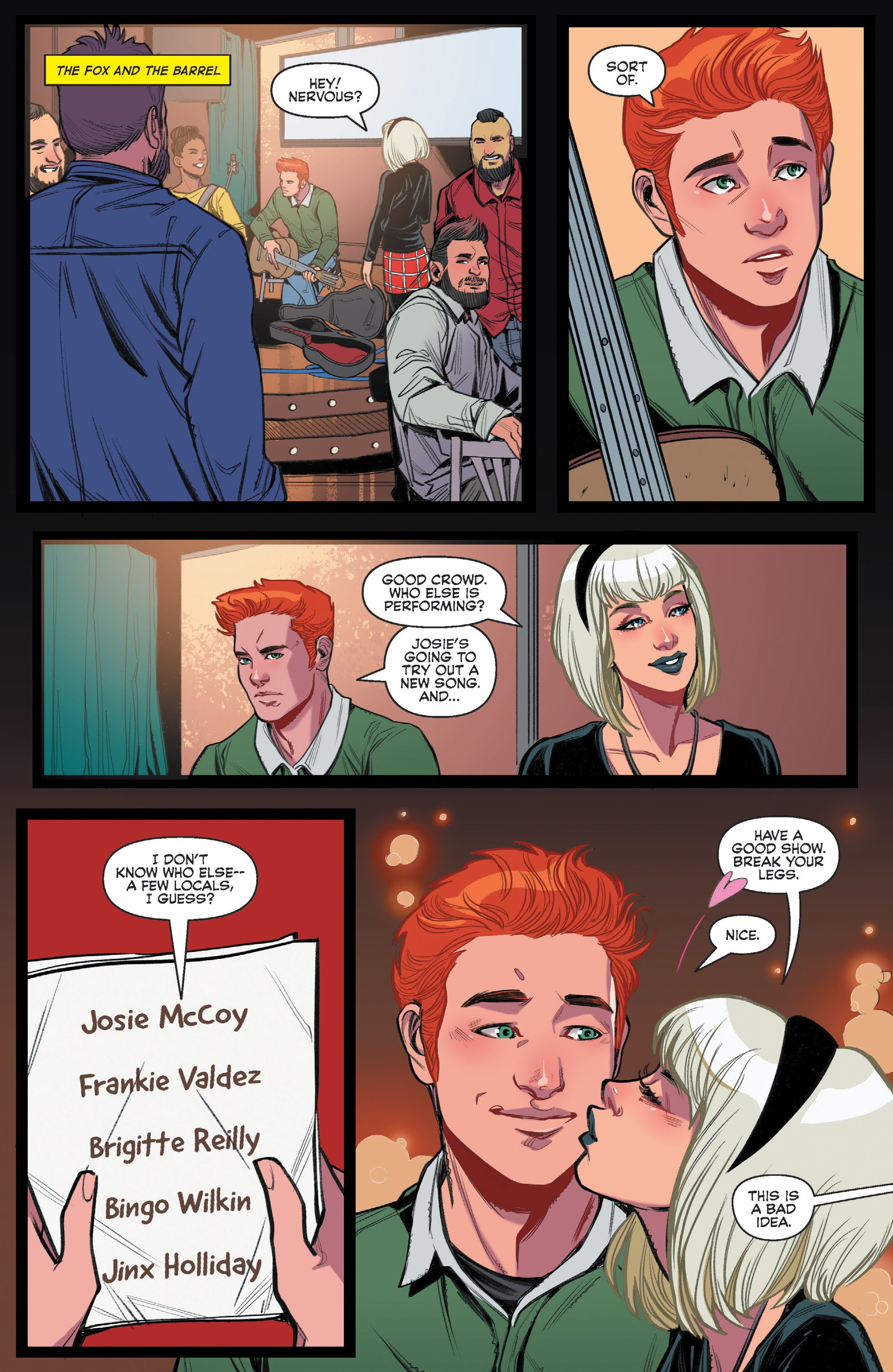 Archie (2015) #710 #44 - English 9