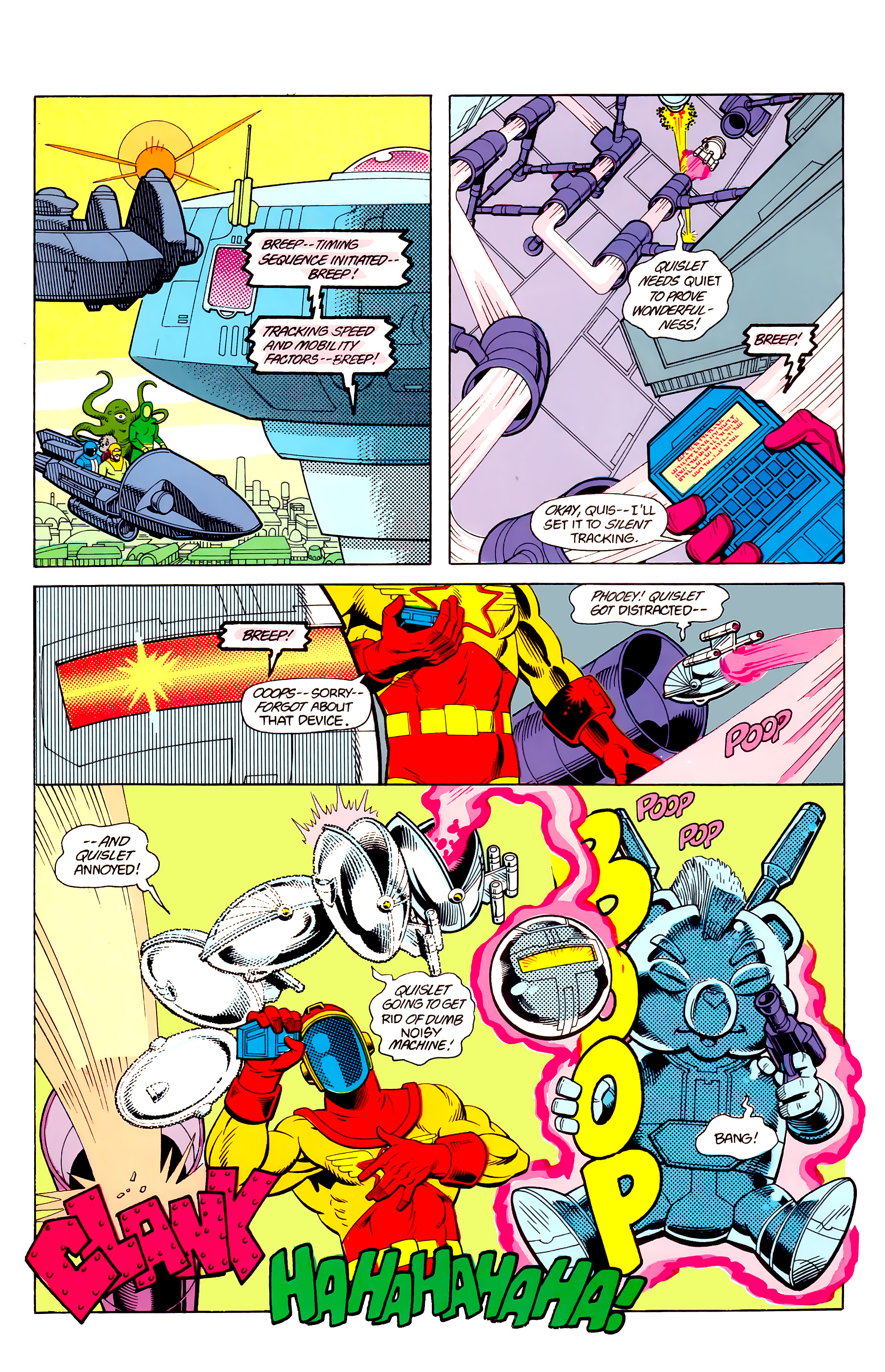 Legion of Super-Heroes (1984) 21 Page 29