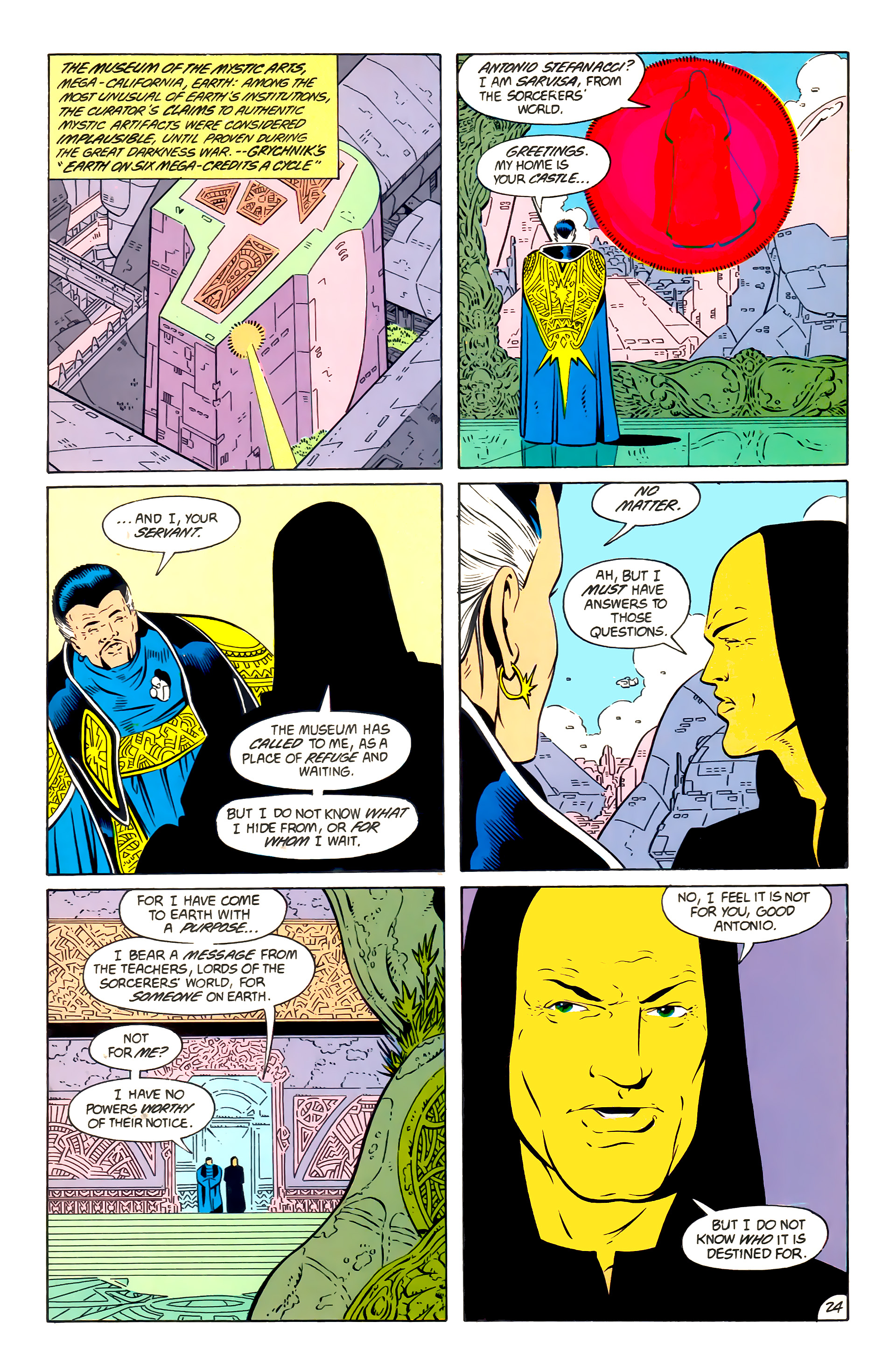 Legion of Super-Heroes (1984) 57 Page 24