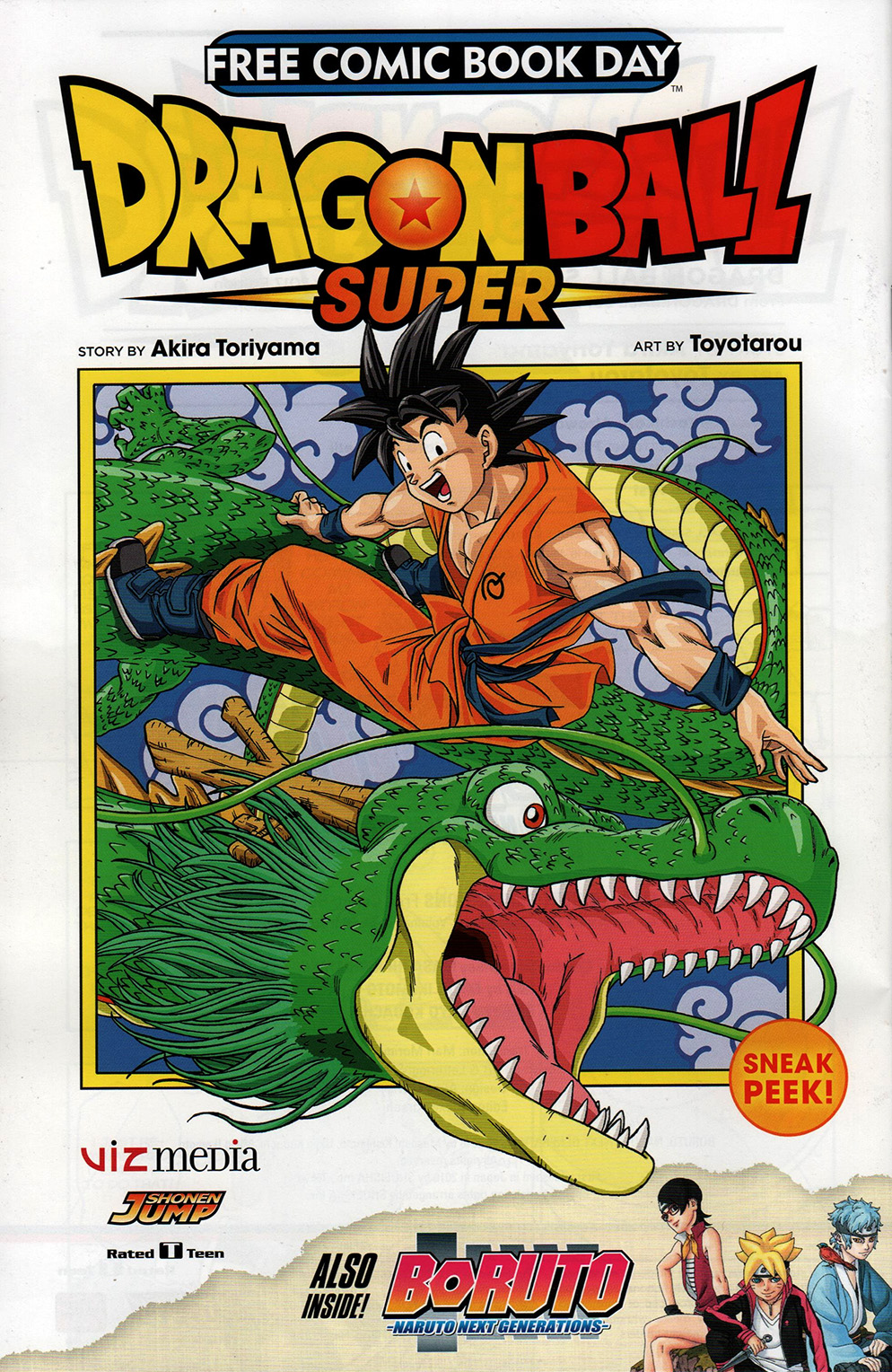 Read online Free Comic Book Day 2017 comic -  Issue # Dragon Ball Super - 1