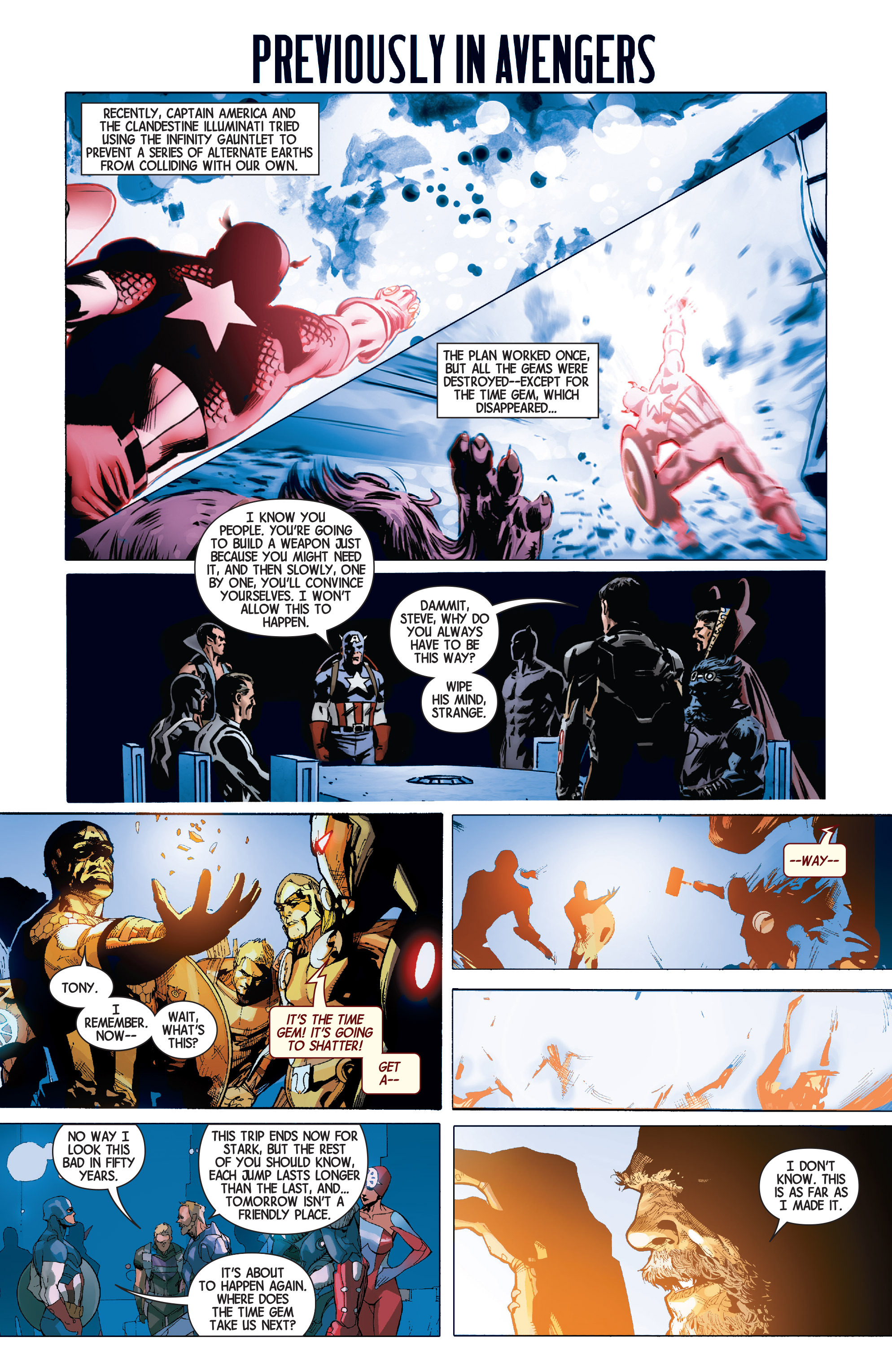 Read online Avengers (2013) comic -  Issue #31 - 2