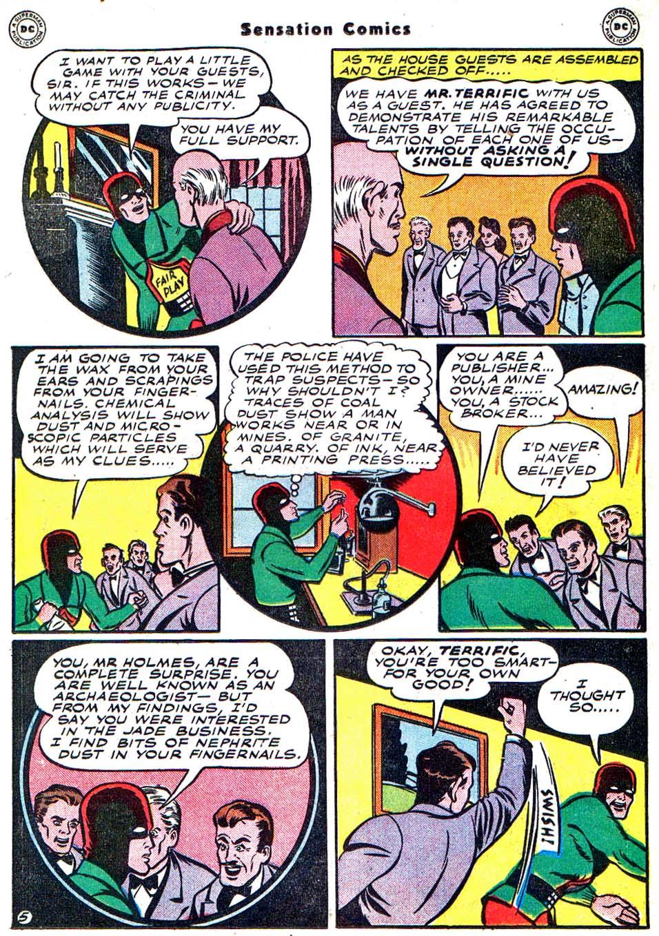 Read online Sensation (Mystery) Comics comic -  Issue #54 - 37