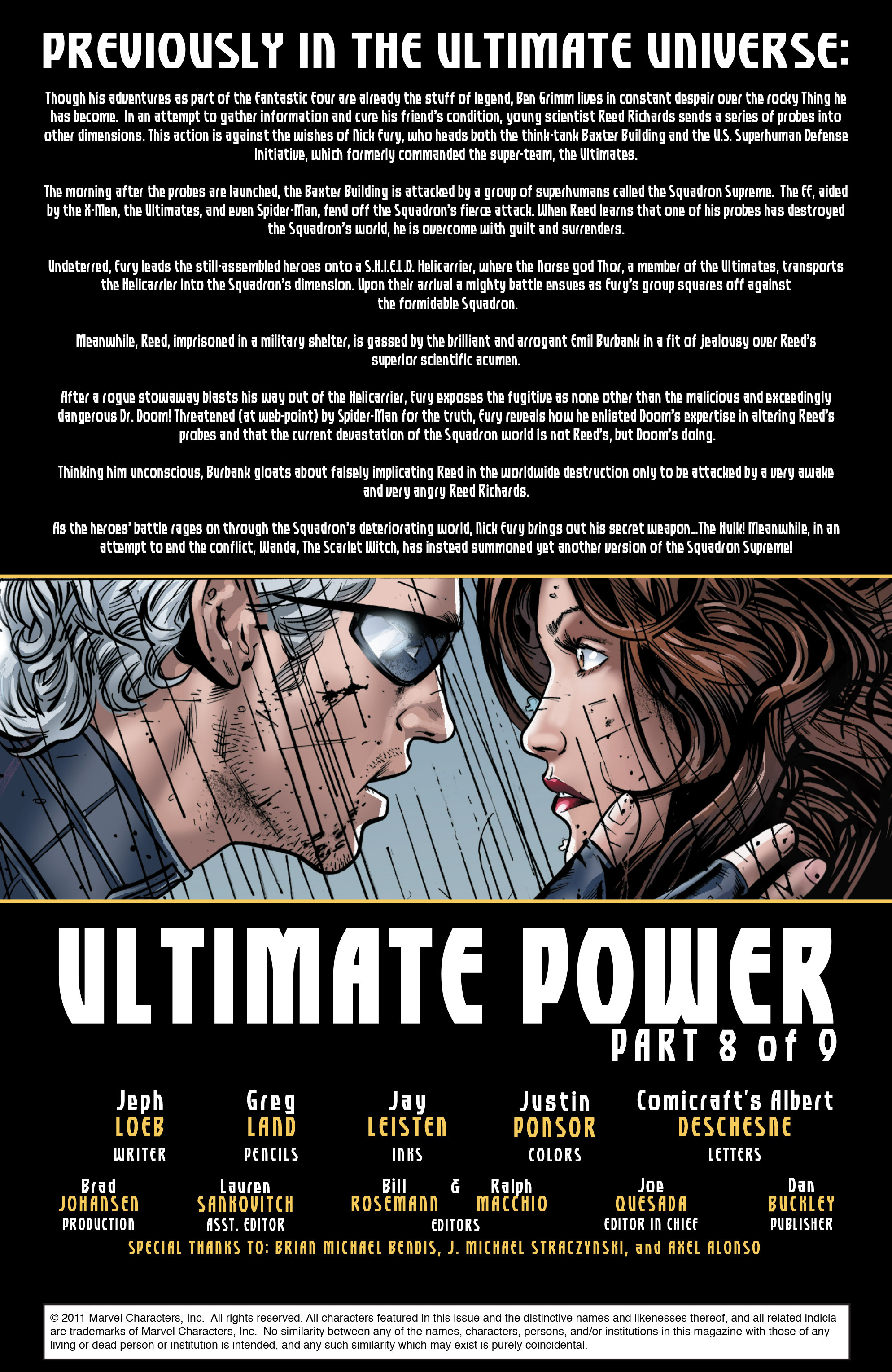 Read online Ultimate Power comic -  Issue #8 - 2
