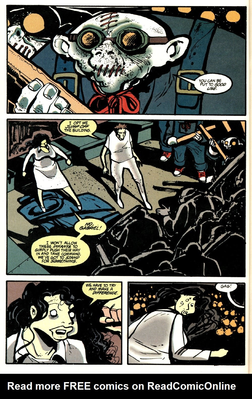 Read online Ted McKeever's Metropol comic -  Issue #8 - 16