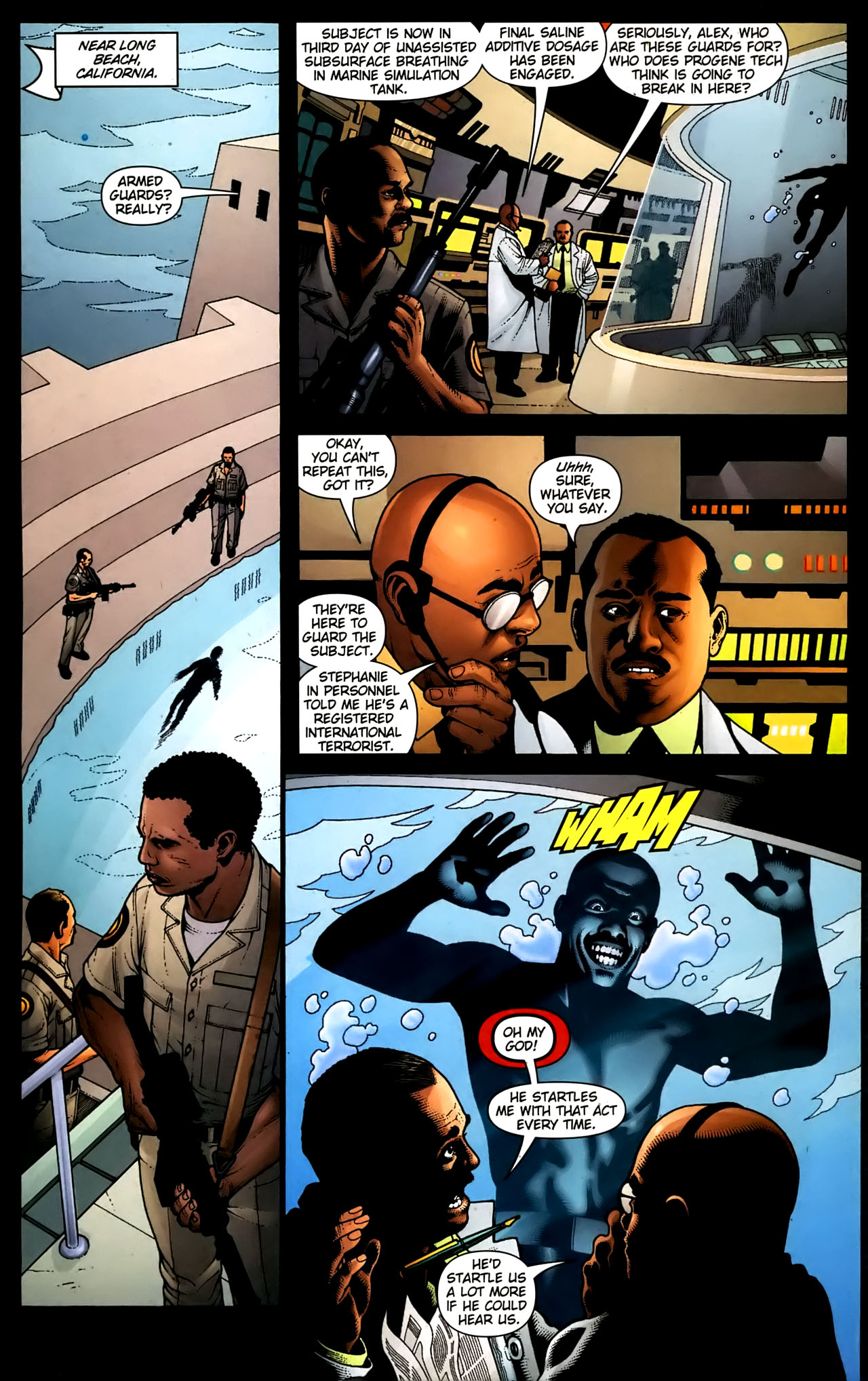 Read online Aquaman (2003) comic -  Issue #36 - 7