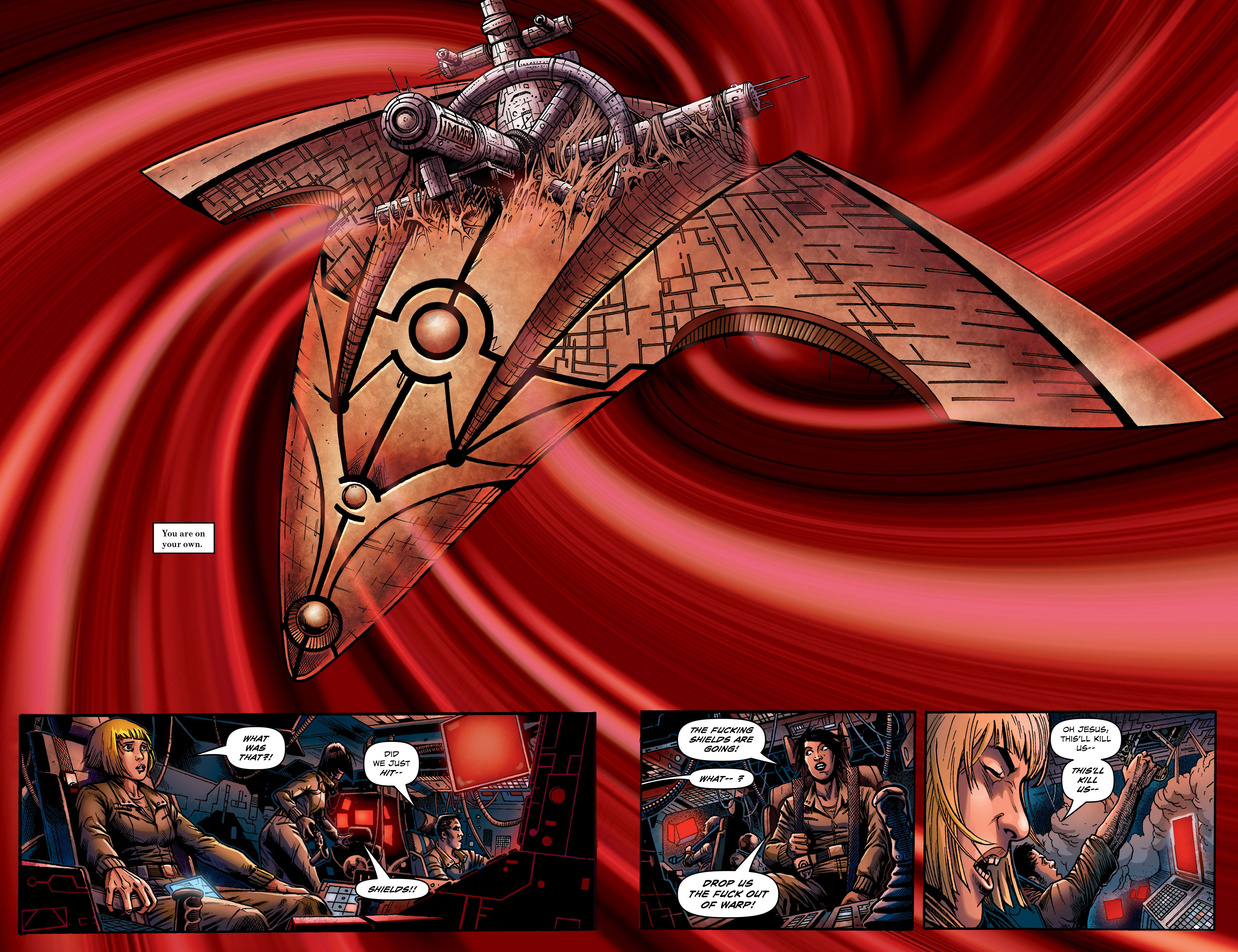 Read online Caliban comic -  Issue #1 - 16