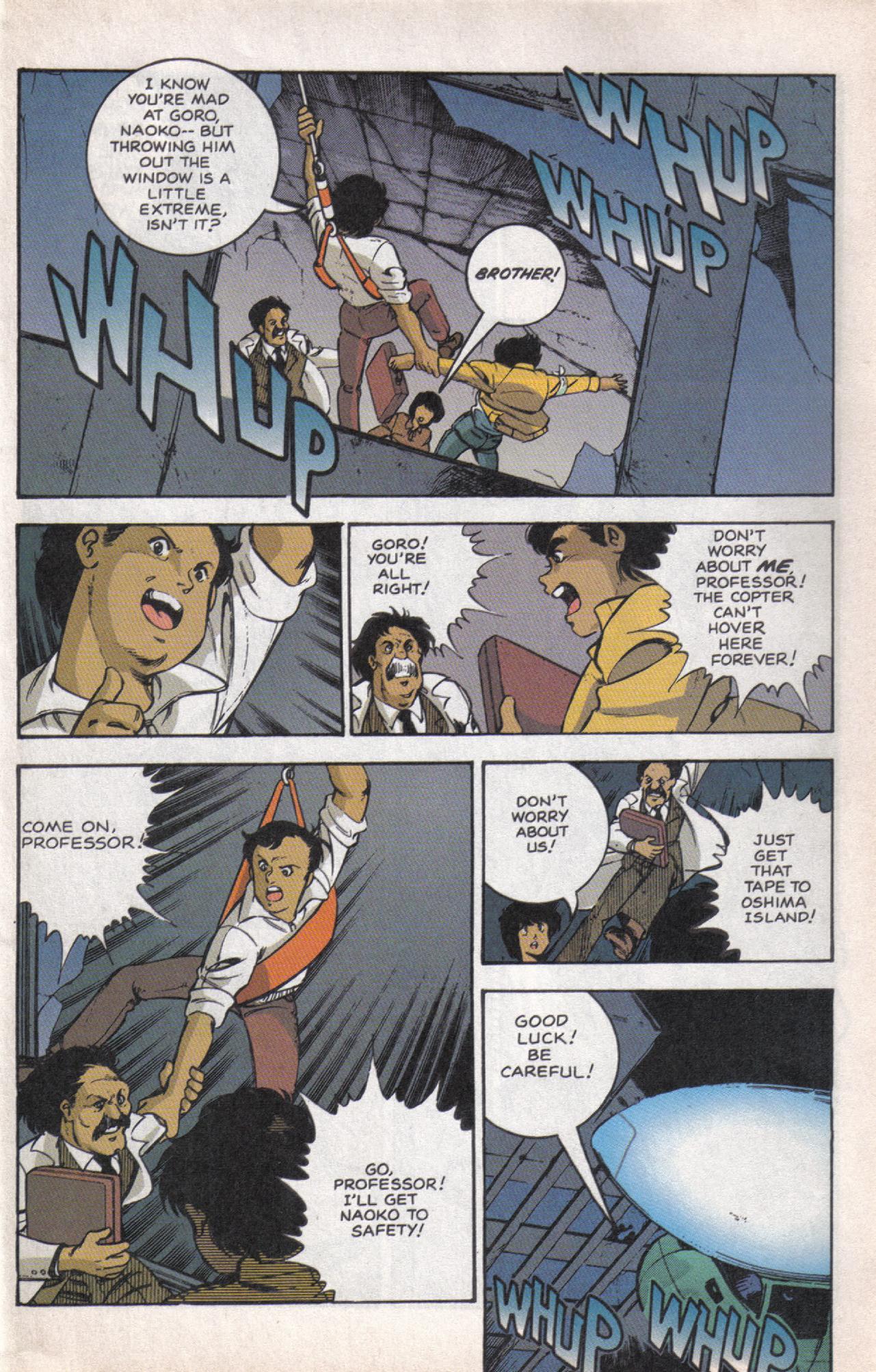 Read online Dark Horse Classics: Terror of Godzilla comic -  Issue #5 - 28