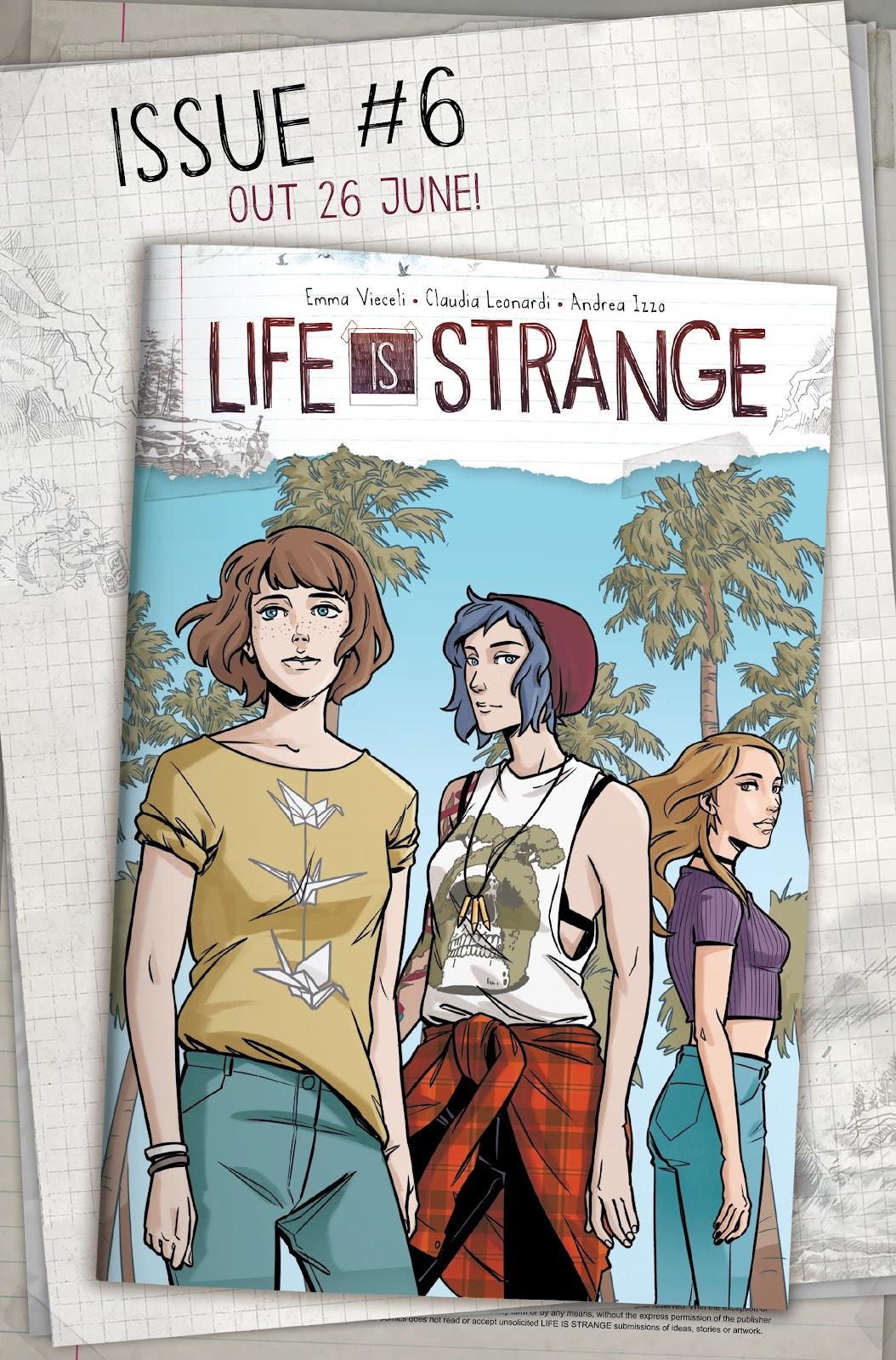 Read online Life is Strange comic -  Issue #5 - 30