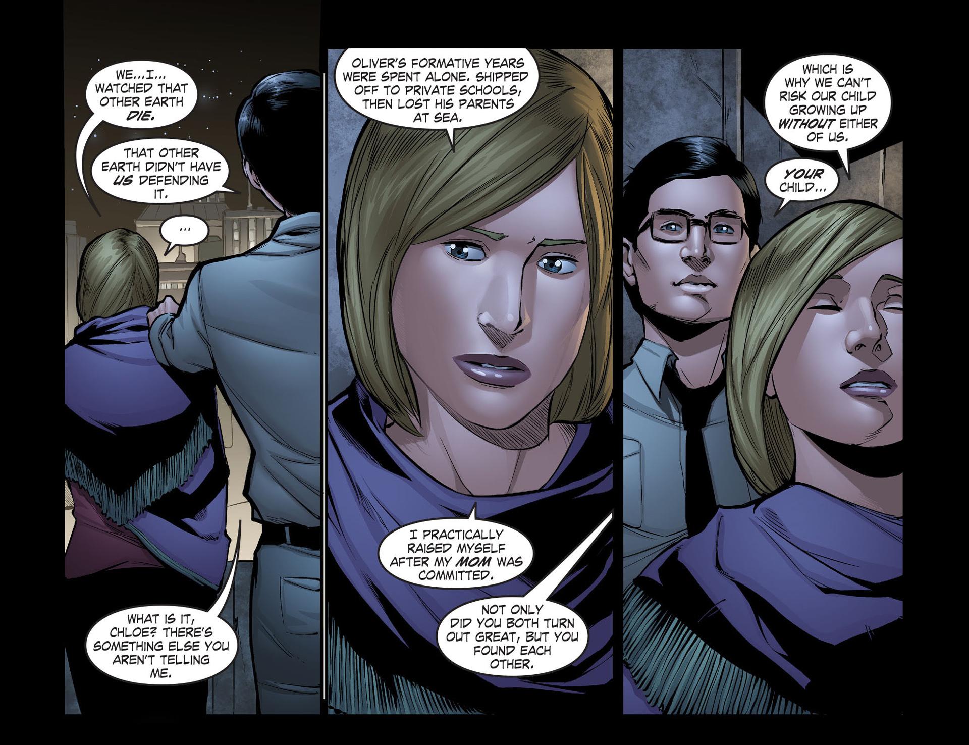 Read online Smallville: Season 11 comic -  Issue #40 - 19