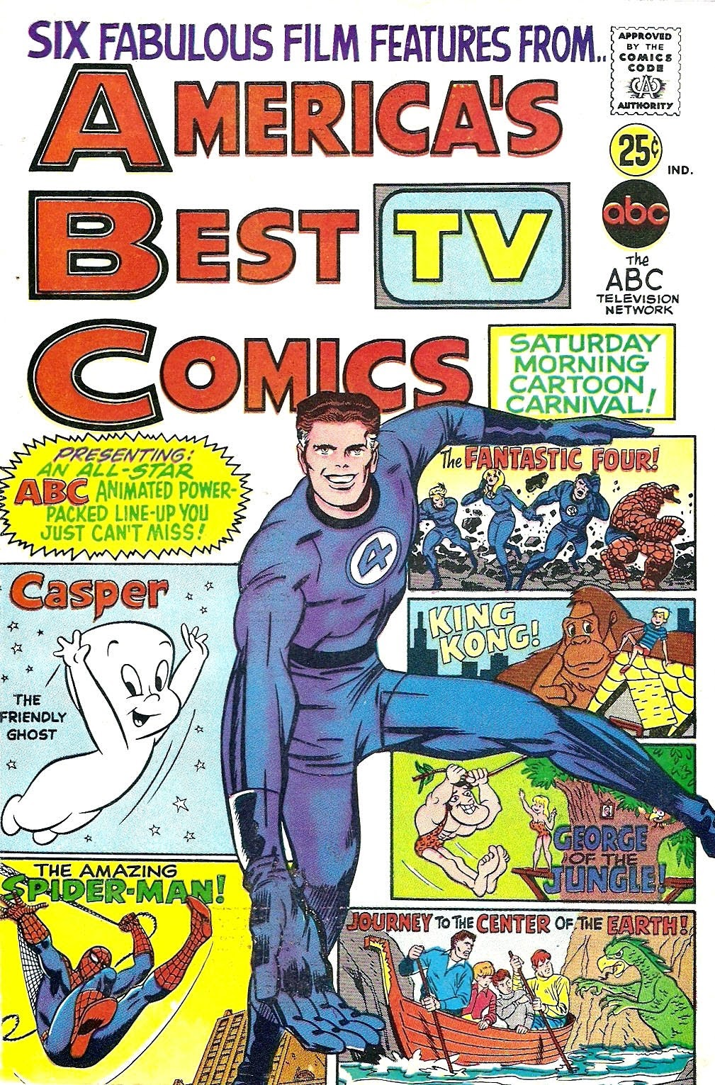 Americas Best TV Comics Full Page 1
