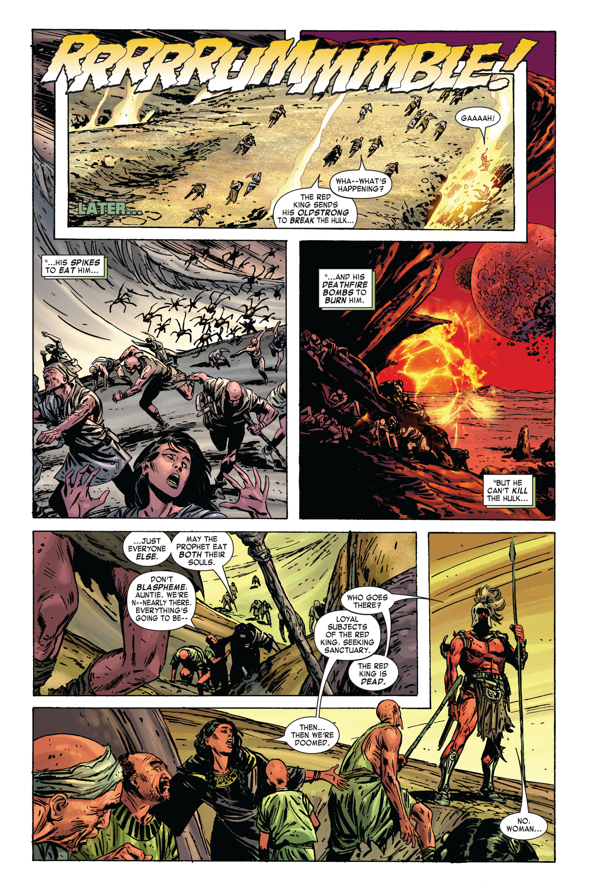 Read online Skaar: Son of Hulk comic -  Issue #2 - 21