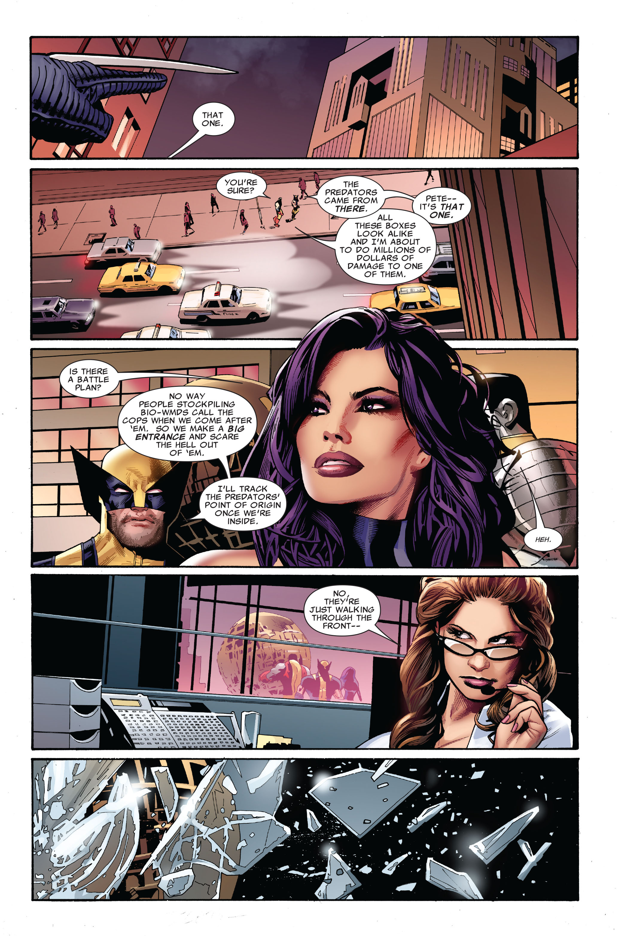 Read online Uncanny X-Men (1963) comic -  Issue #520 - 17