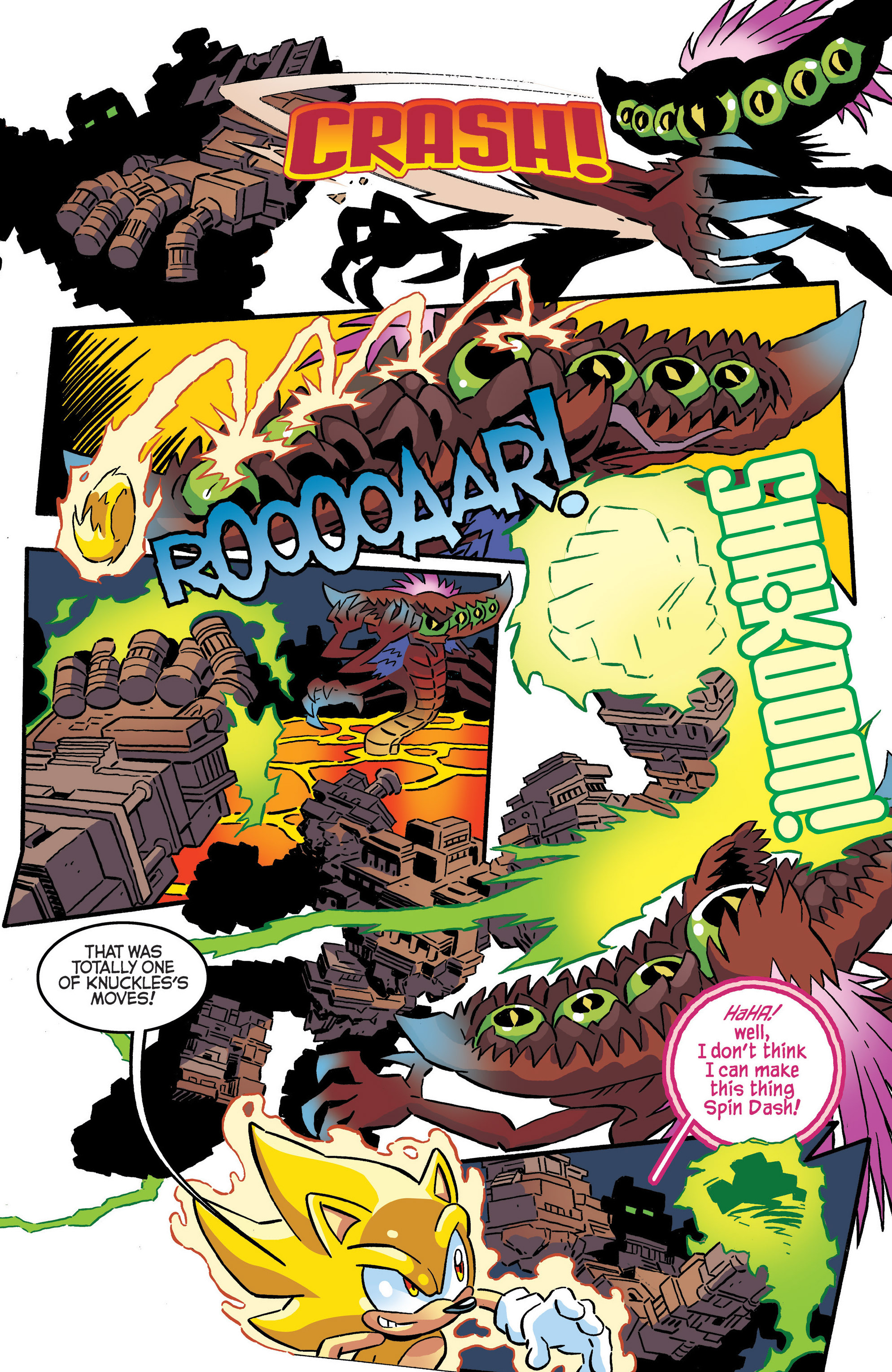 Read online Sonic The Hedgehog comic -  Issue #287 - 8