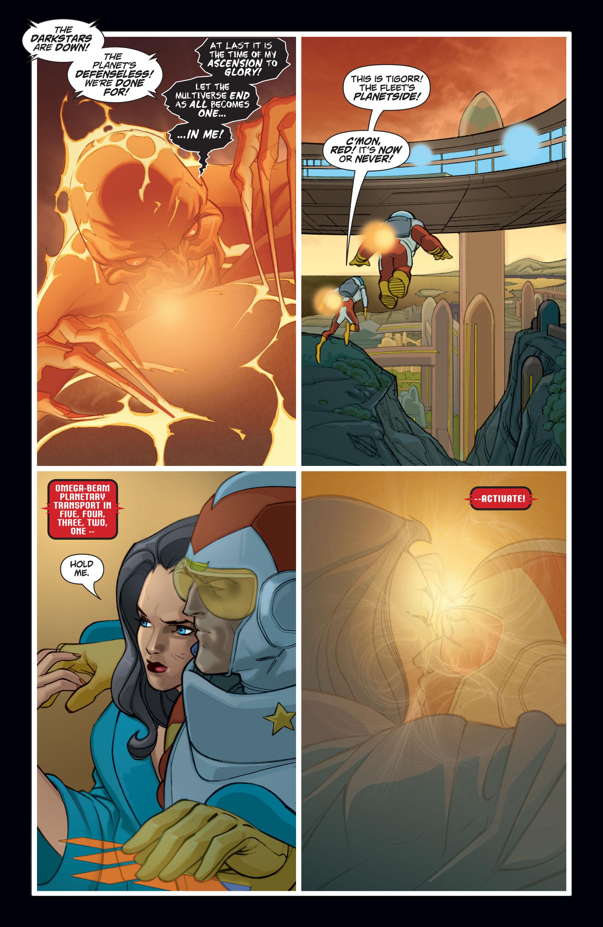 Read online Adam Strange (2004) comic -  Issue #8 - 18
