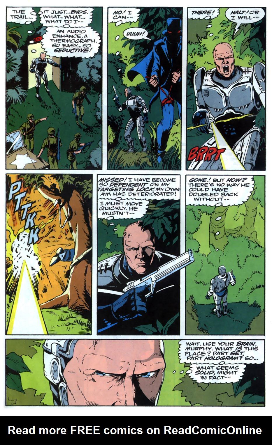 Read online Robocop (1990) comic -  Issue #20 - 19
