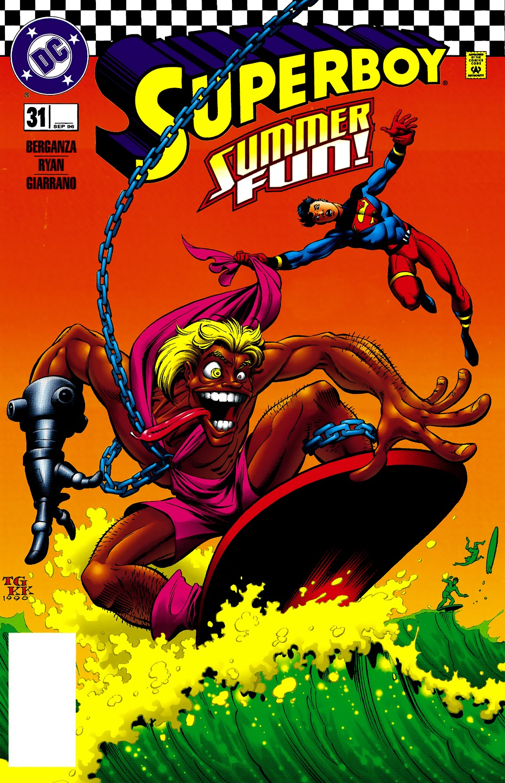 Superboy (1994) 31 Page 1