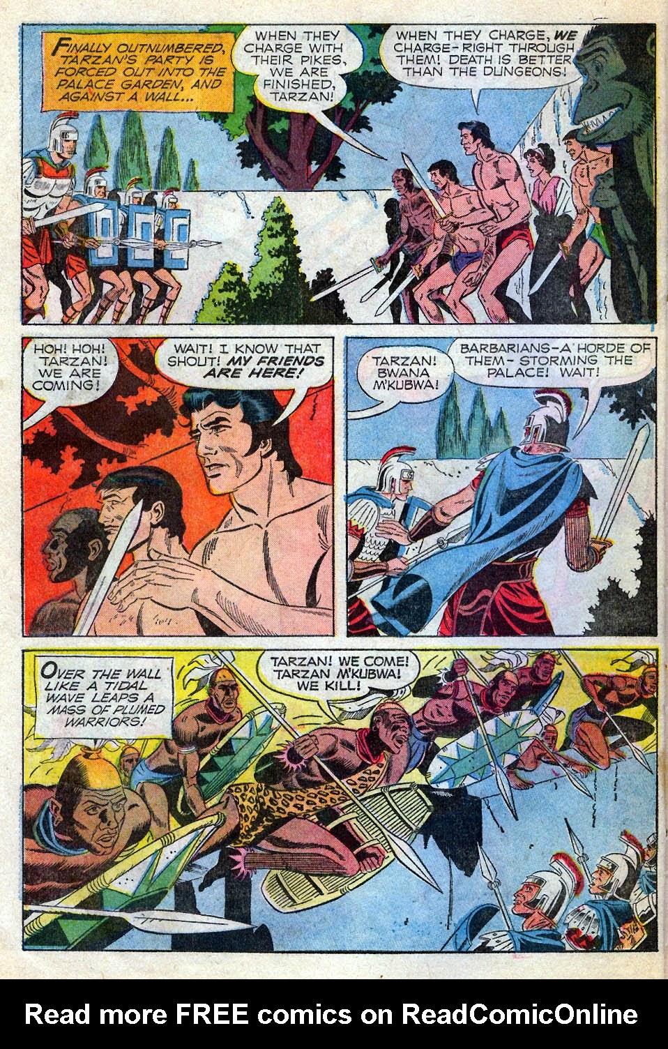 Tarzan (1962) issue 195 - Page 22